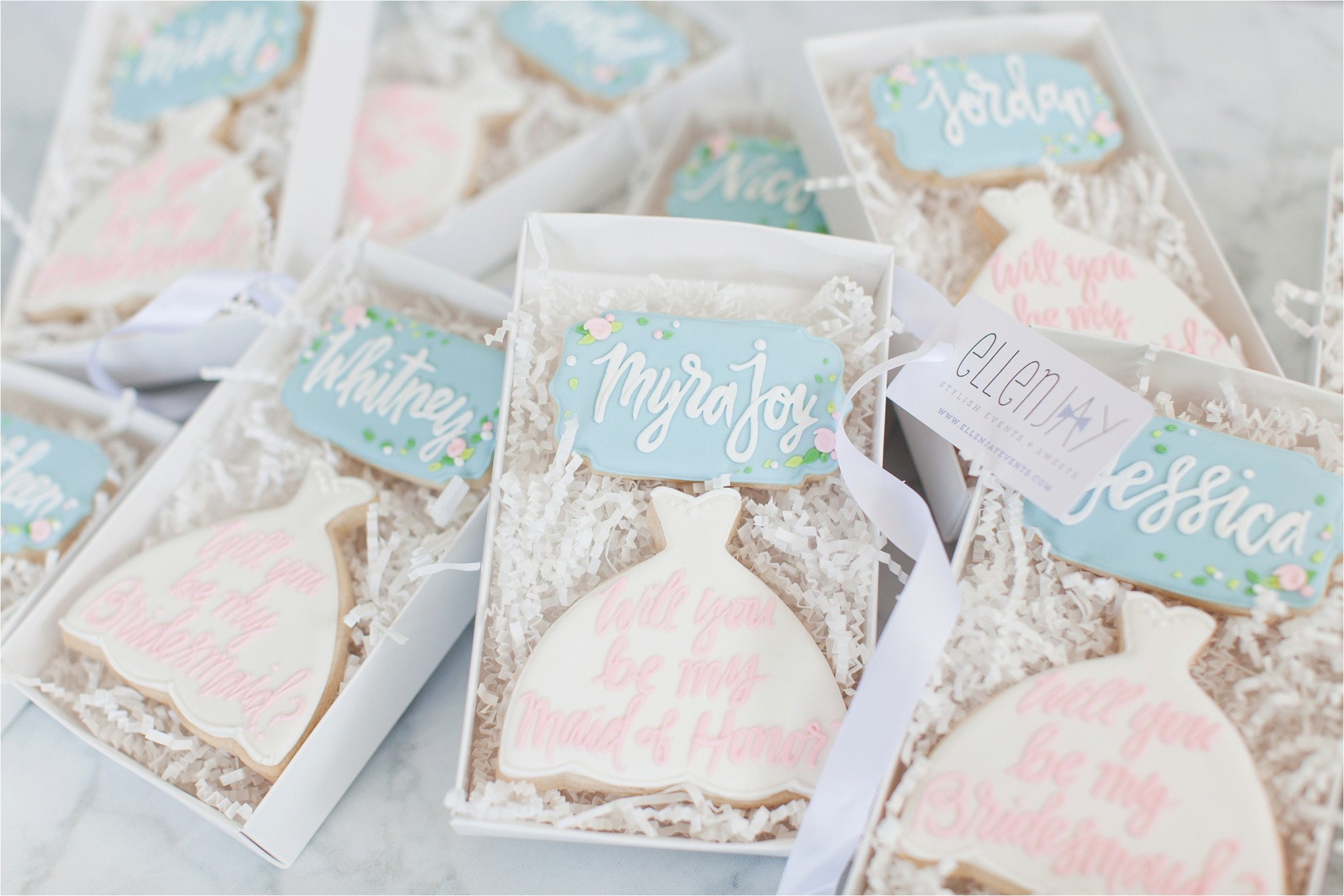 Sugar cookies from ellenjay events