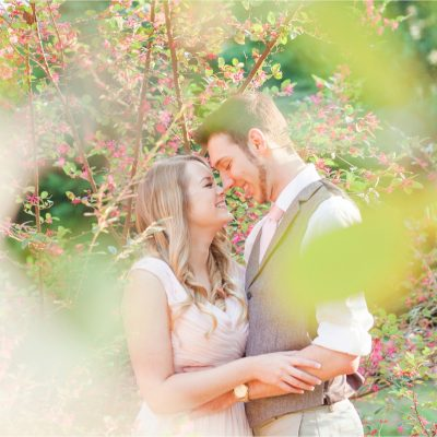 Fairytale Engagement Session at Mosher Castle in Fairhope, Alabama | Kayla + Jerrad