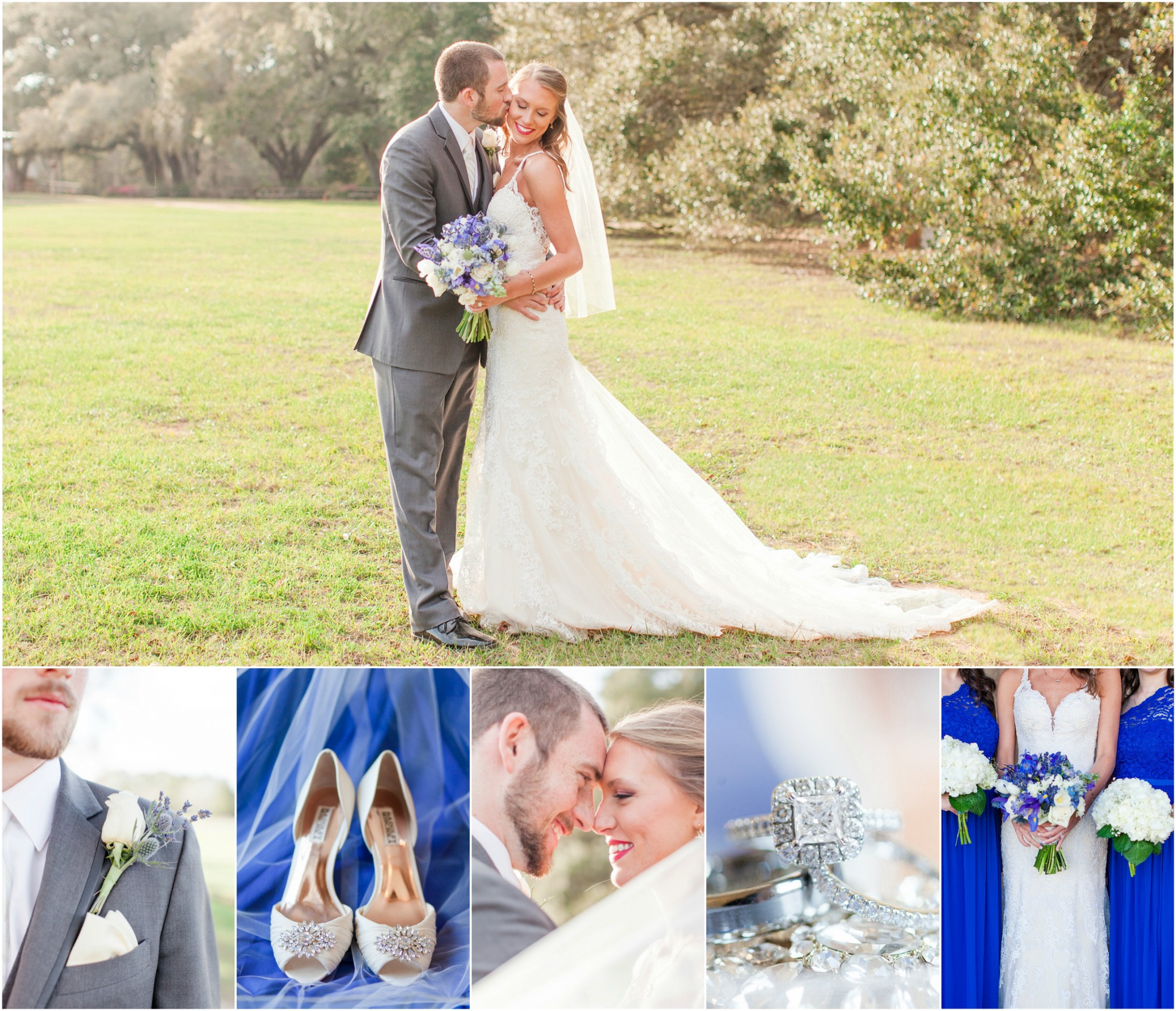 Justin and Leah's Oak Hollow Farm wedding in Fairhope AL