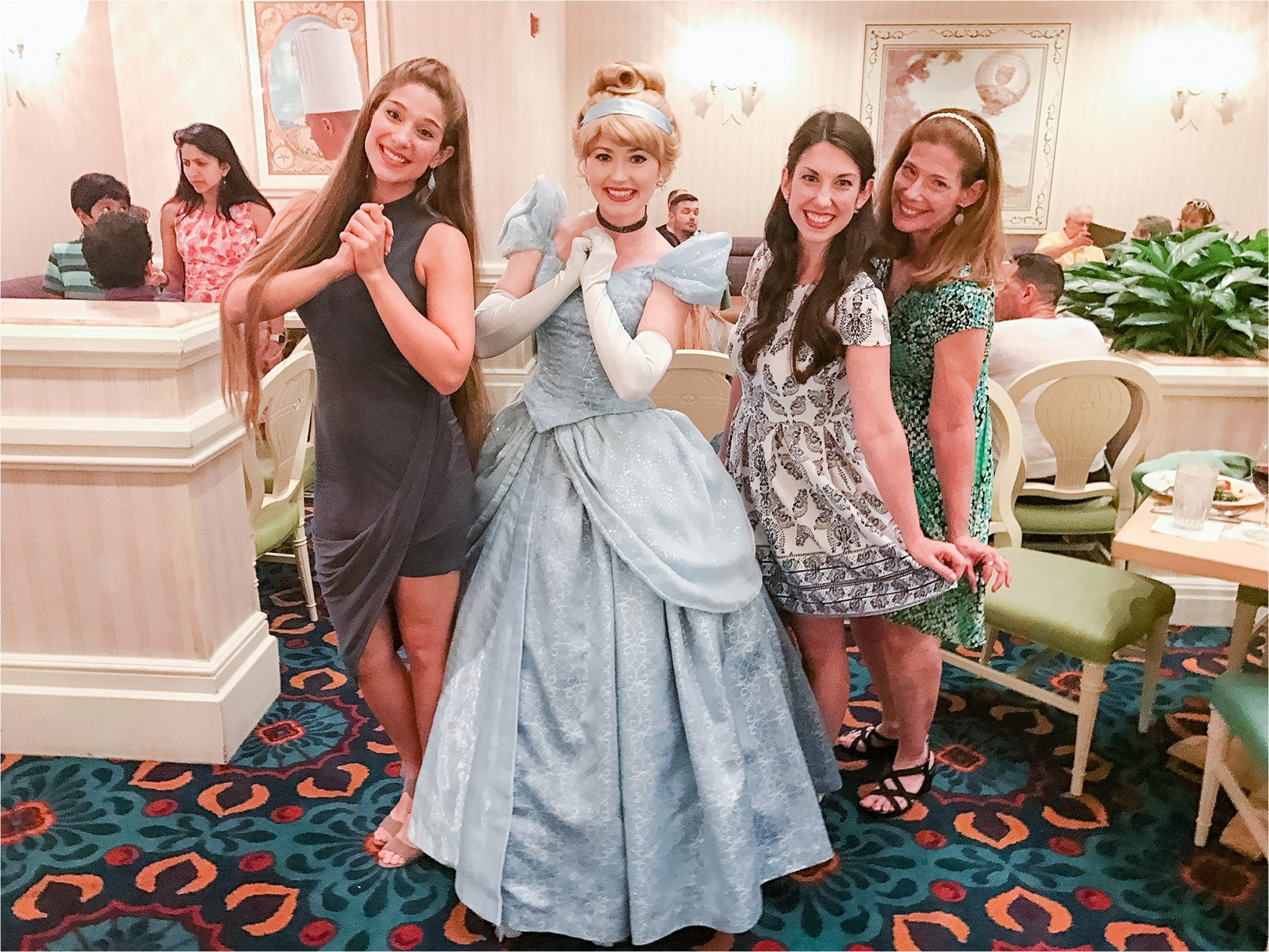 Cinderella at Disney !