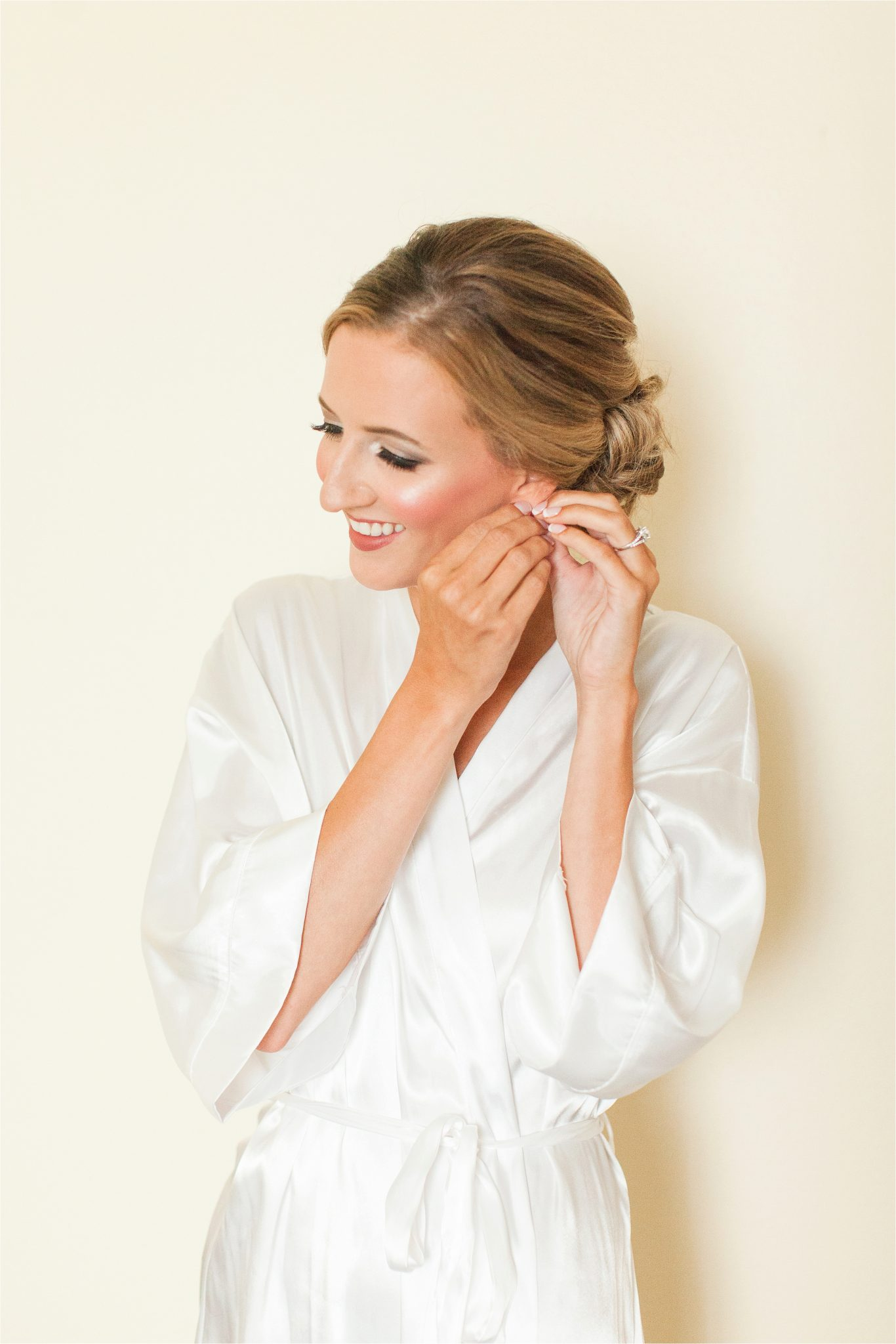 Classy Light Blue Wedding-Point Clear, Alabama Wedding Photographer-Bridal hair-Bridal makeup