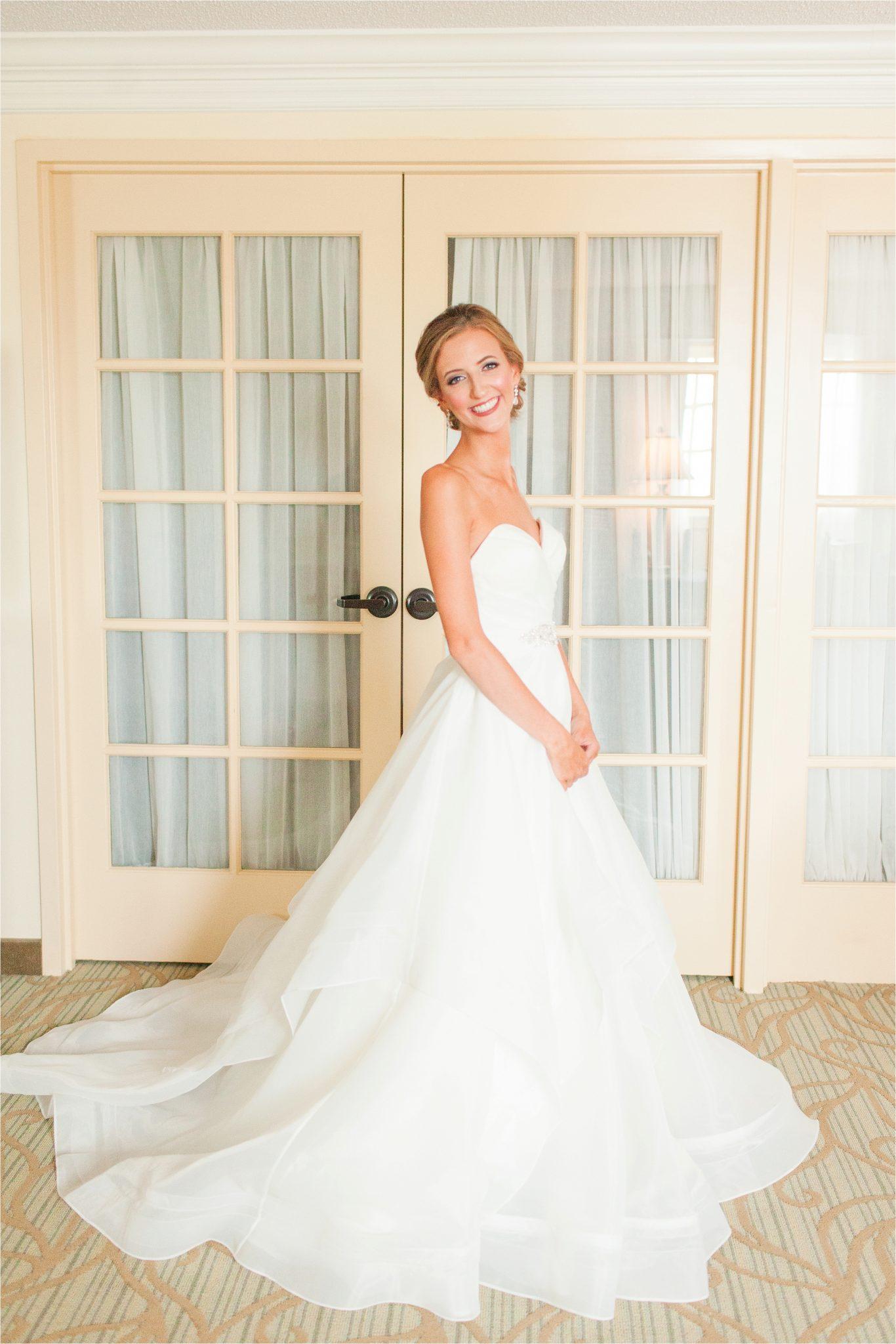 Classy Light Blue Wedding-Point Clear, Alabama Wedding Photographer-Wedding dress-Wedding gown