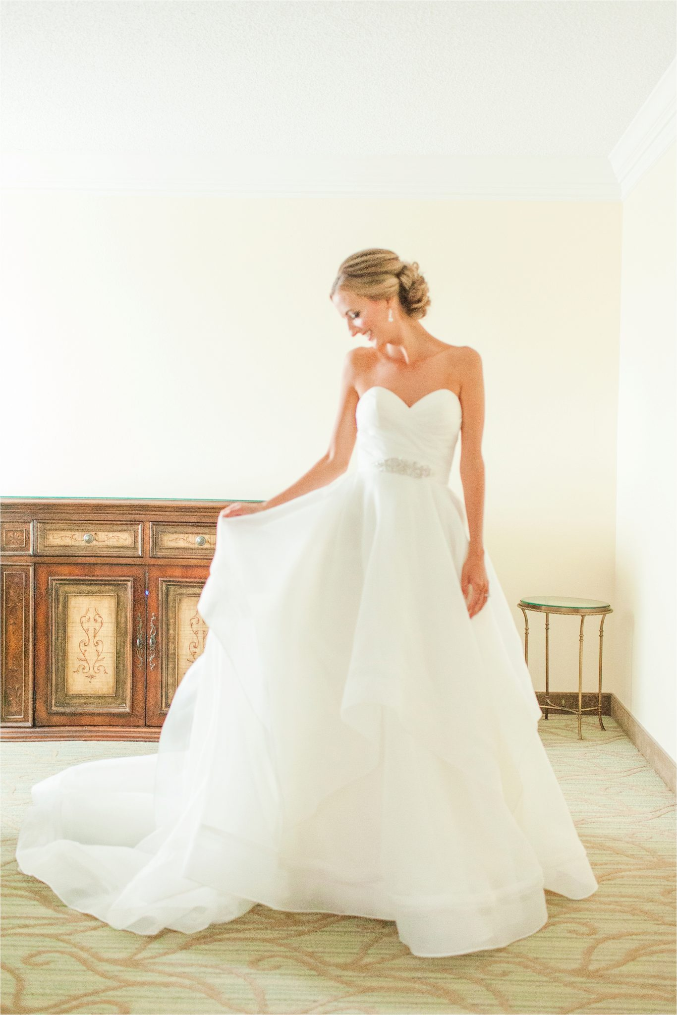 Classy Light Blue Wedding-Point Clear, Alabama Wedding Photographer-Wedding dress-Wedding gown-Bridal shoot