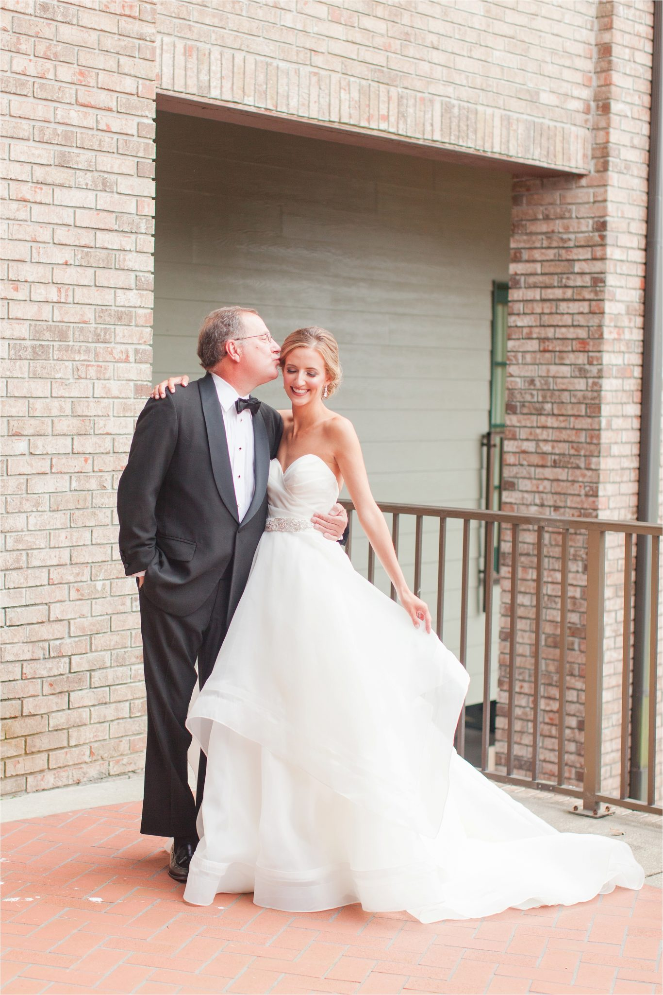 Classy Light Blue Wedding-Point Clear, Alabama Wedding Photographer-Wedding dress-Wedding gown-Bride and father wedding day-Bride and father precious moments