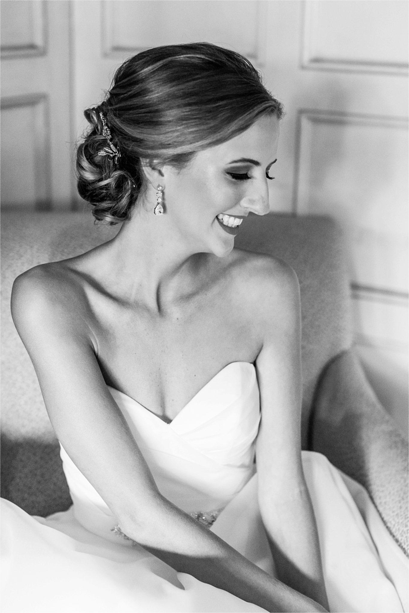 Classy Light Blue Wedding-Point Clear, Alabama Wedding Photographer-Wedding dress-Wedding gown-Bridal shoot-Bridal hair
