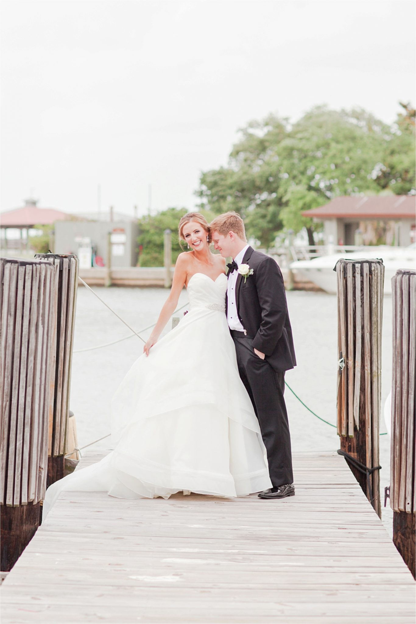 Classy Light Blue Wedding-Point Clear, Alabama Wedding Photographer-Wedding dress-Wedding gown-Bride and groom-First look