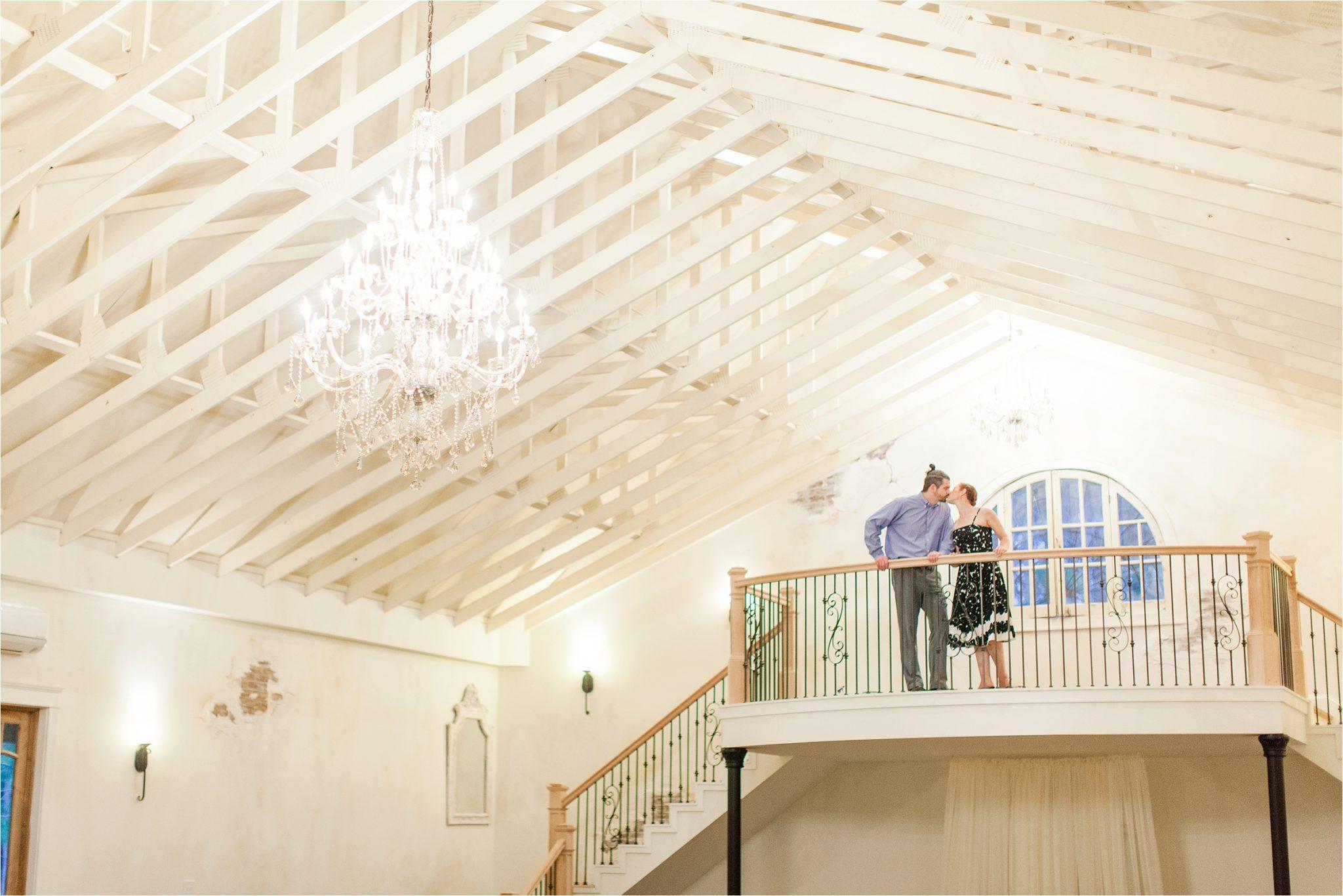 Reception hall at Bella Sera Gardens