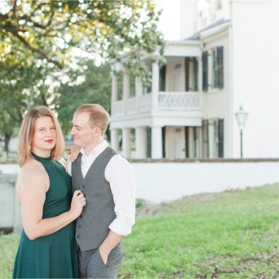 Mobile Alabama Engagement Session Photographer | Meri Beth + Andrew