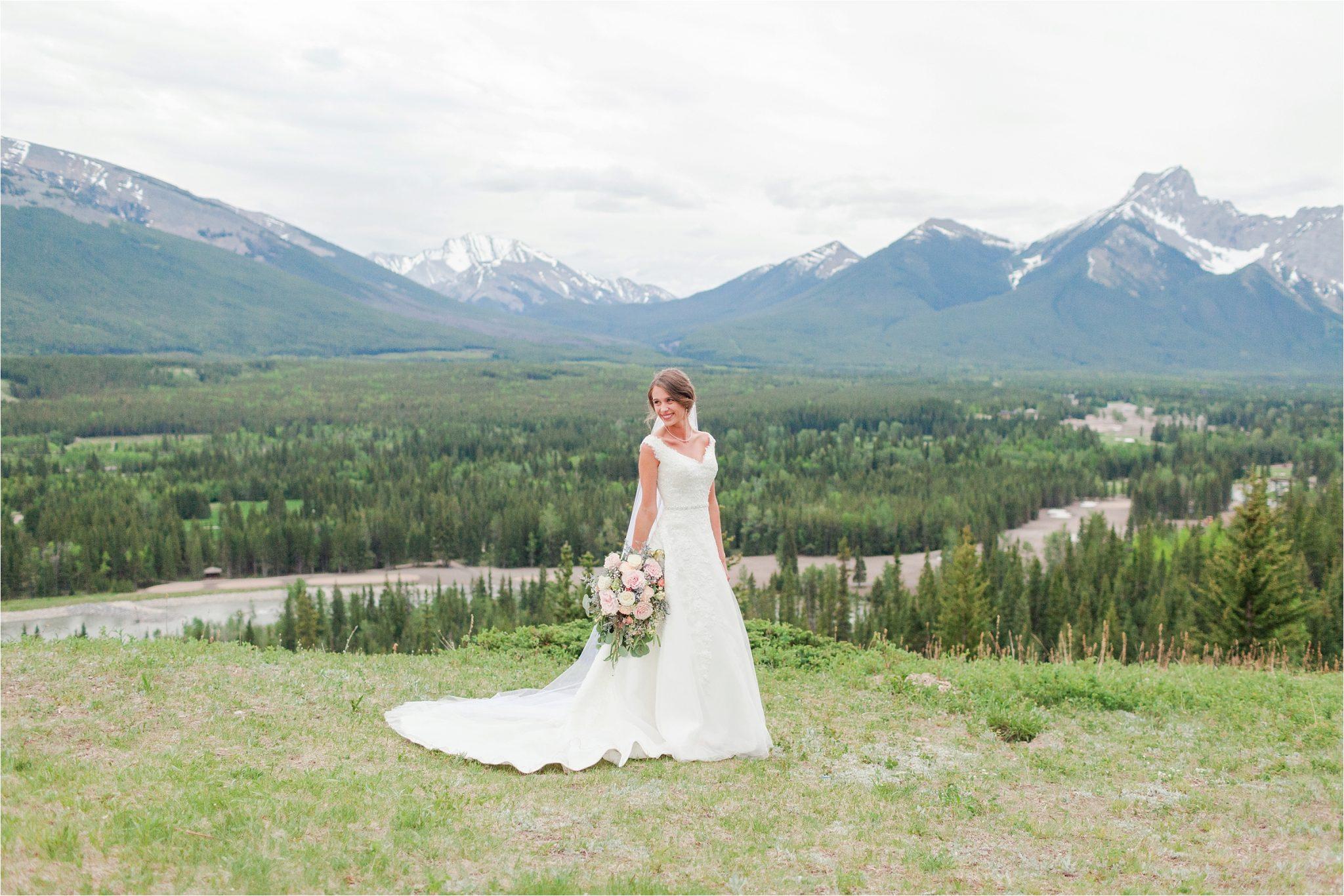 Kananaskis Canada Wedding at the Delta Lodge-Kaitlin & Ricky-Alabama wedding photographer-Lodge wedding-Bridal photography-Canada bride-Mountain wedding