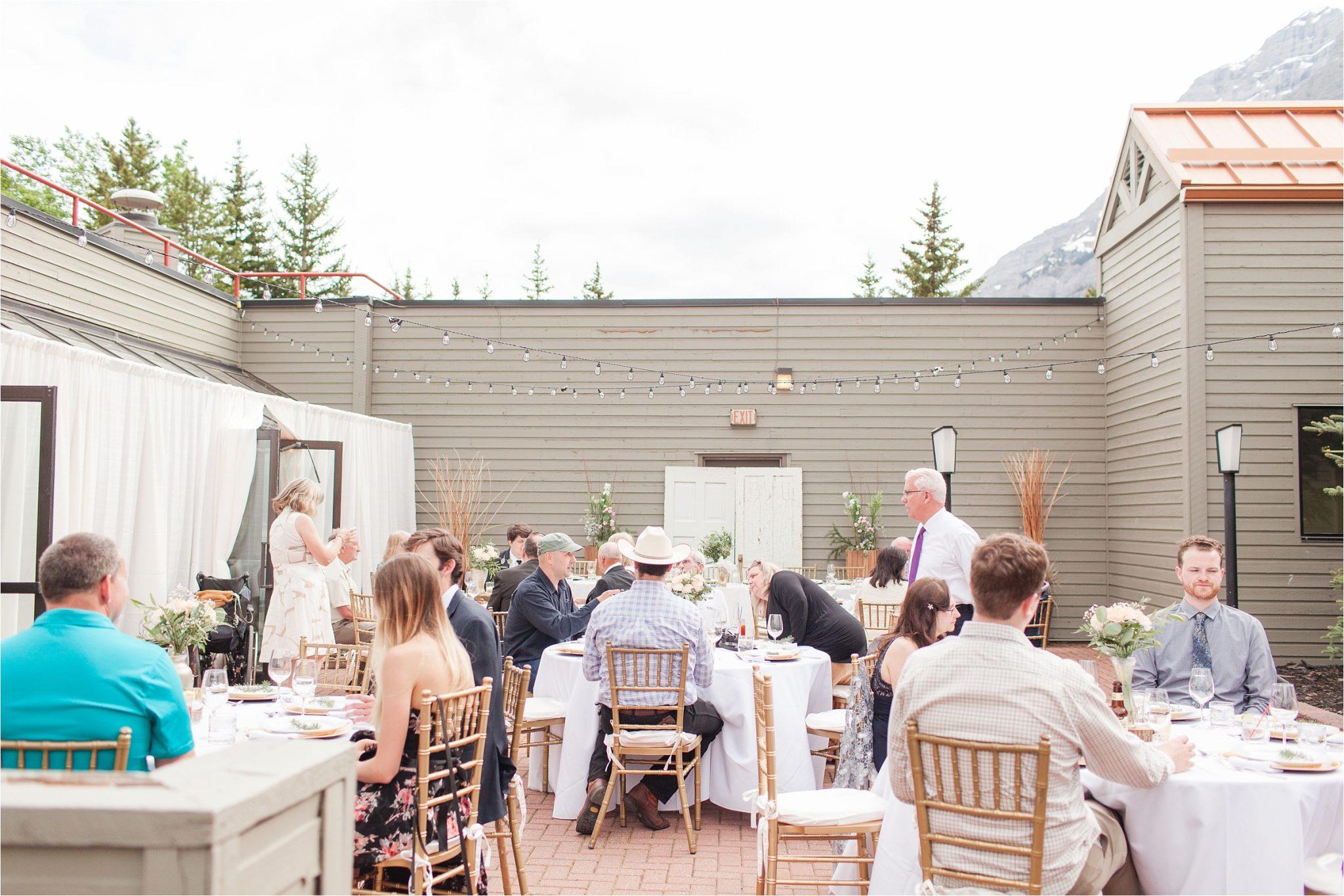 Kananaskis Canada Wedding at the Delta Lodge-Kaitlin & Ricky-Alabama wedding photographer-Lodge wedding-Bridal photography-Outside bridal shoot-Mountain wedding-Mountain wedding-Canada wedding photographer-Outside wedding reception