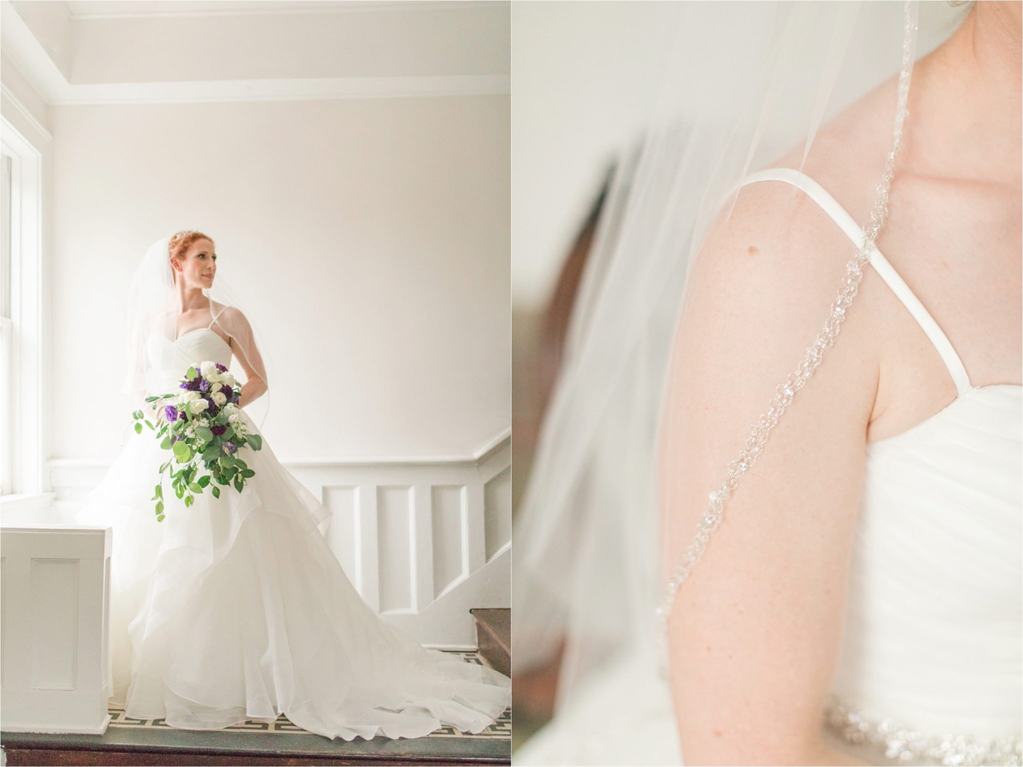 The Pillars of Mobile Bridal Session flowers
