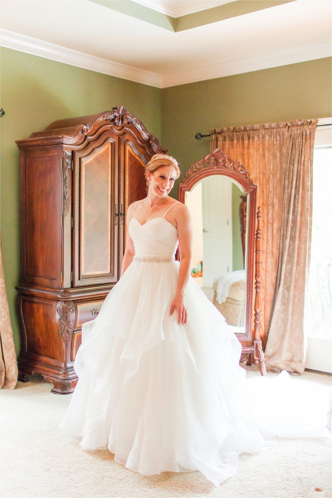 Romantic Destination Wedding Photographer-Bella Sera Gardens-Sarra + Matt-Bridal photography-Wedding dress-First look