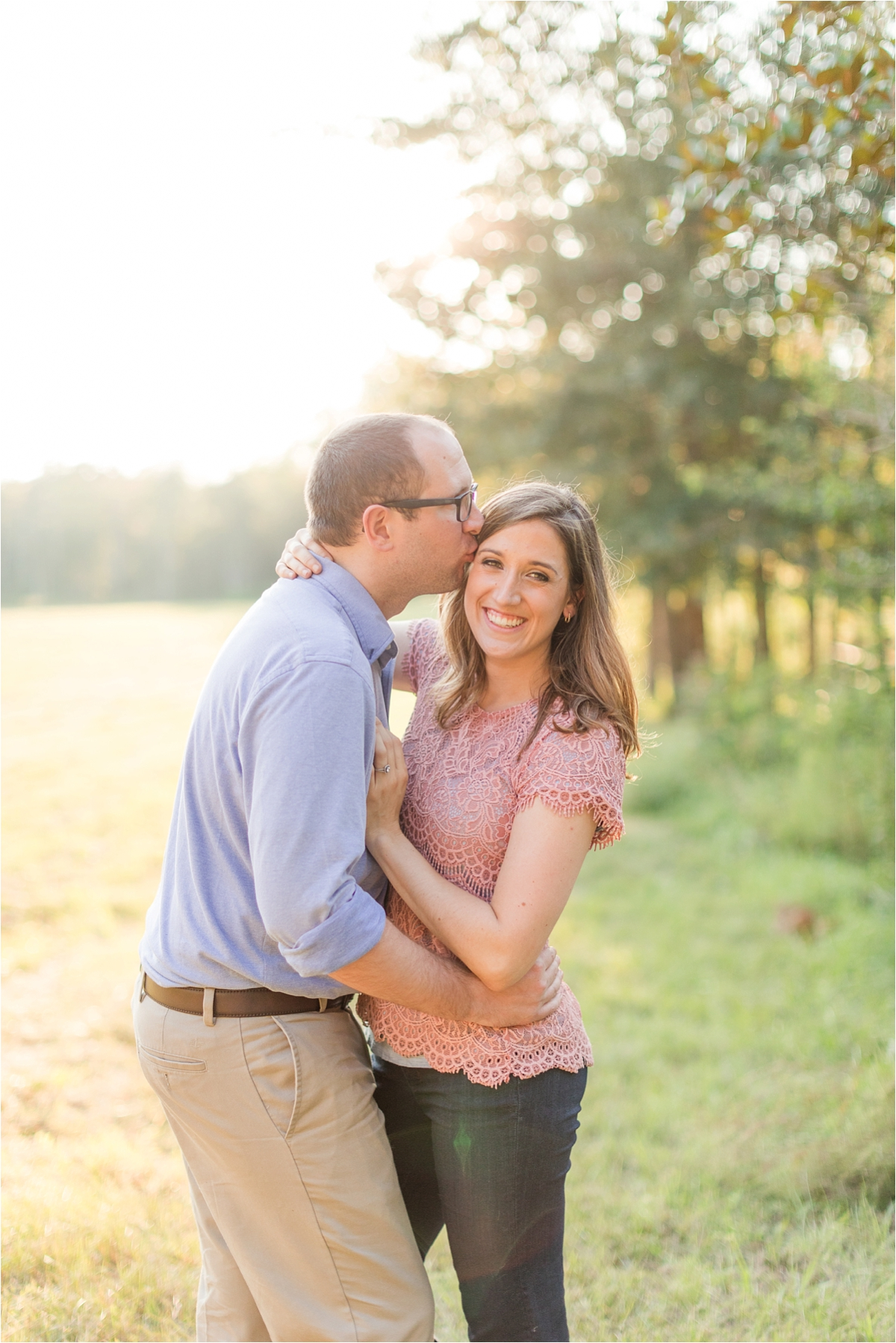 Alabama Countryside Engagement Session-Mandy + Greg-Country engagement-Outisde engagement
