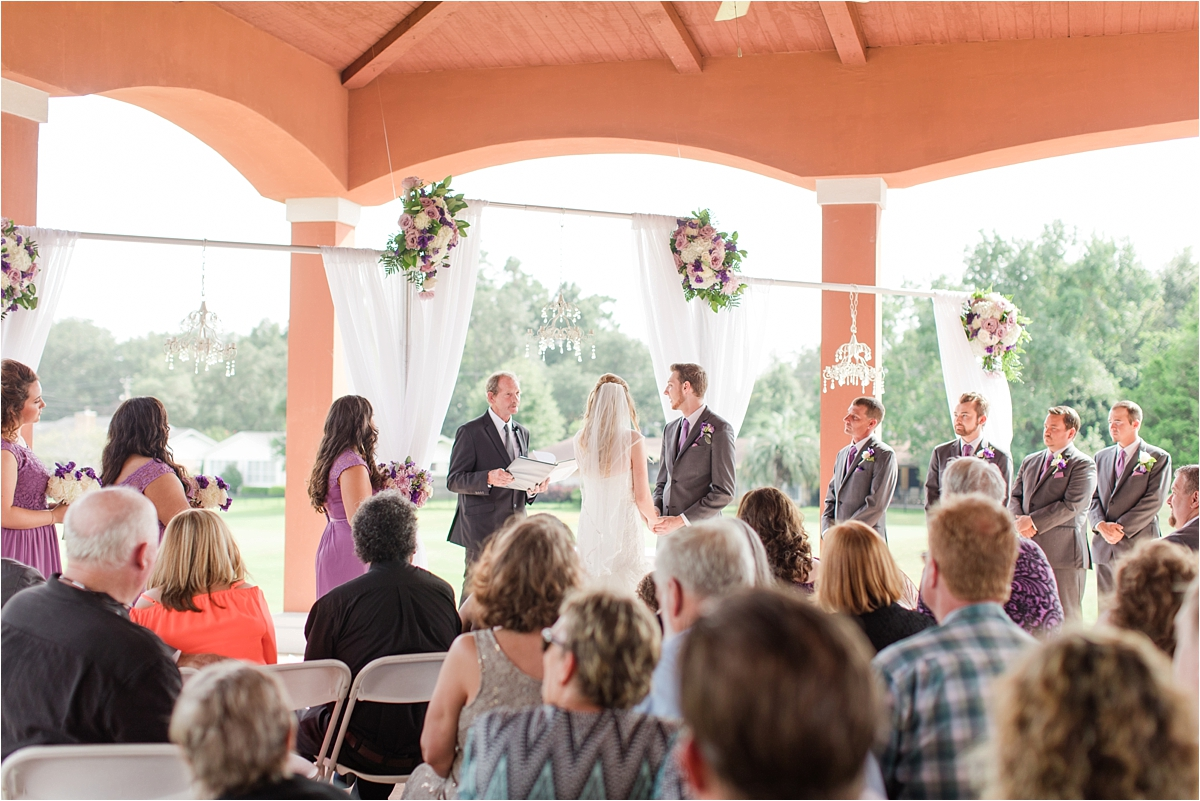 Such A Fun Day Bride Flower Lavender Violet Roses Crown Pensacola Florida Wedding Scenic Hills Country Club