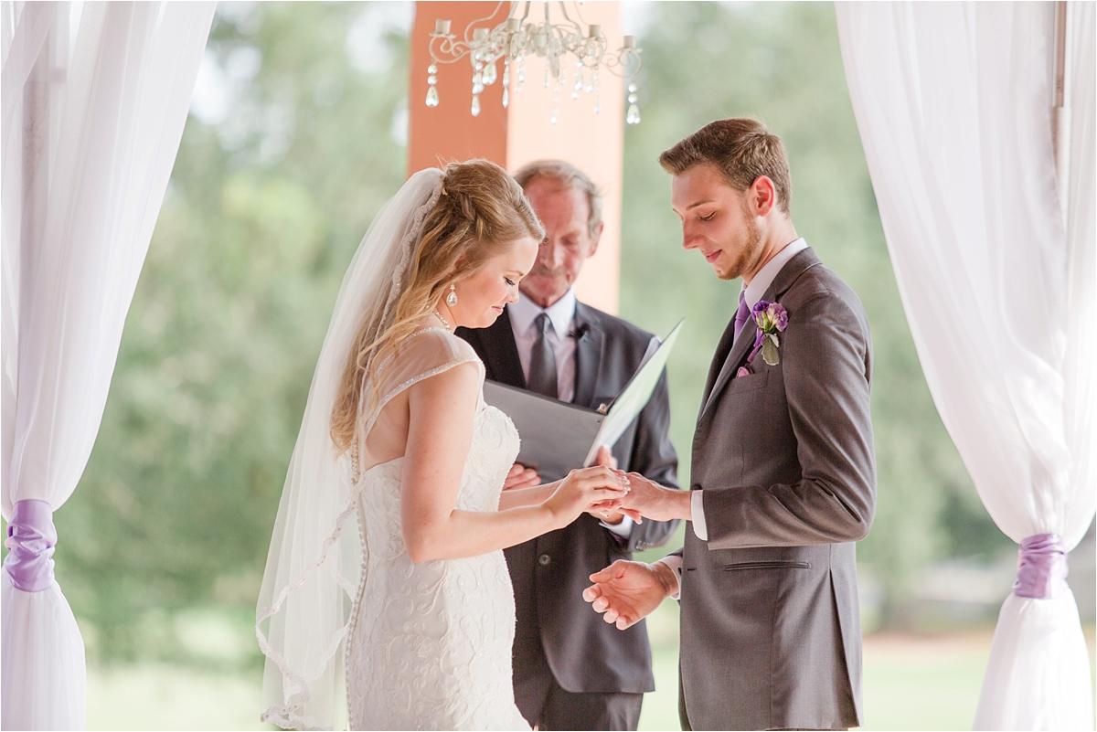Pensacola Florida Wedding Scenic Hills Country Club Kayla Jerrad