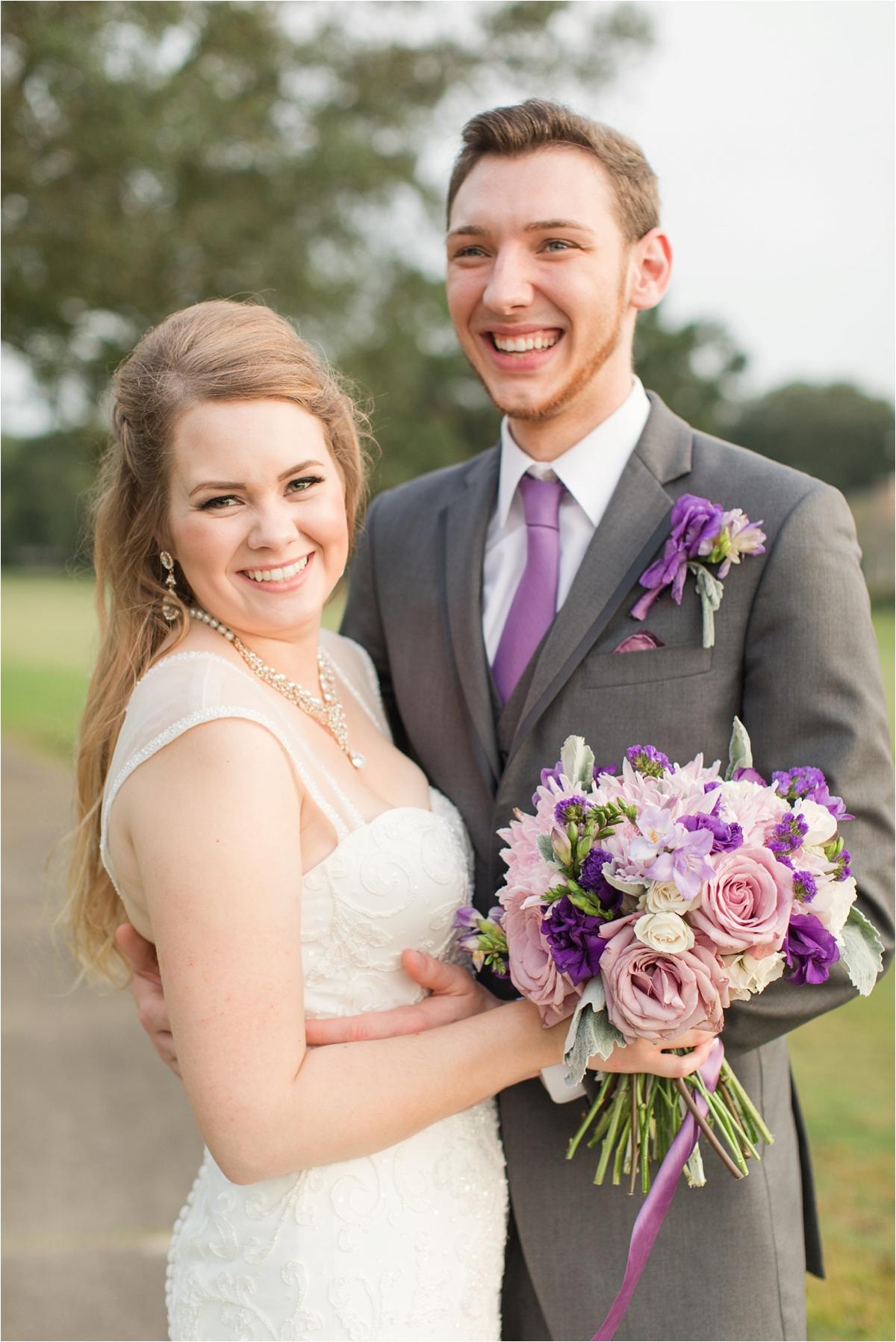 bride-groom-portraits-photos-chunky-jewelry-lavender-bouquet-alabama-wedding-photographer