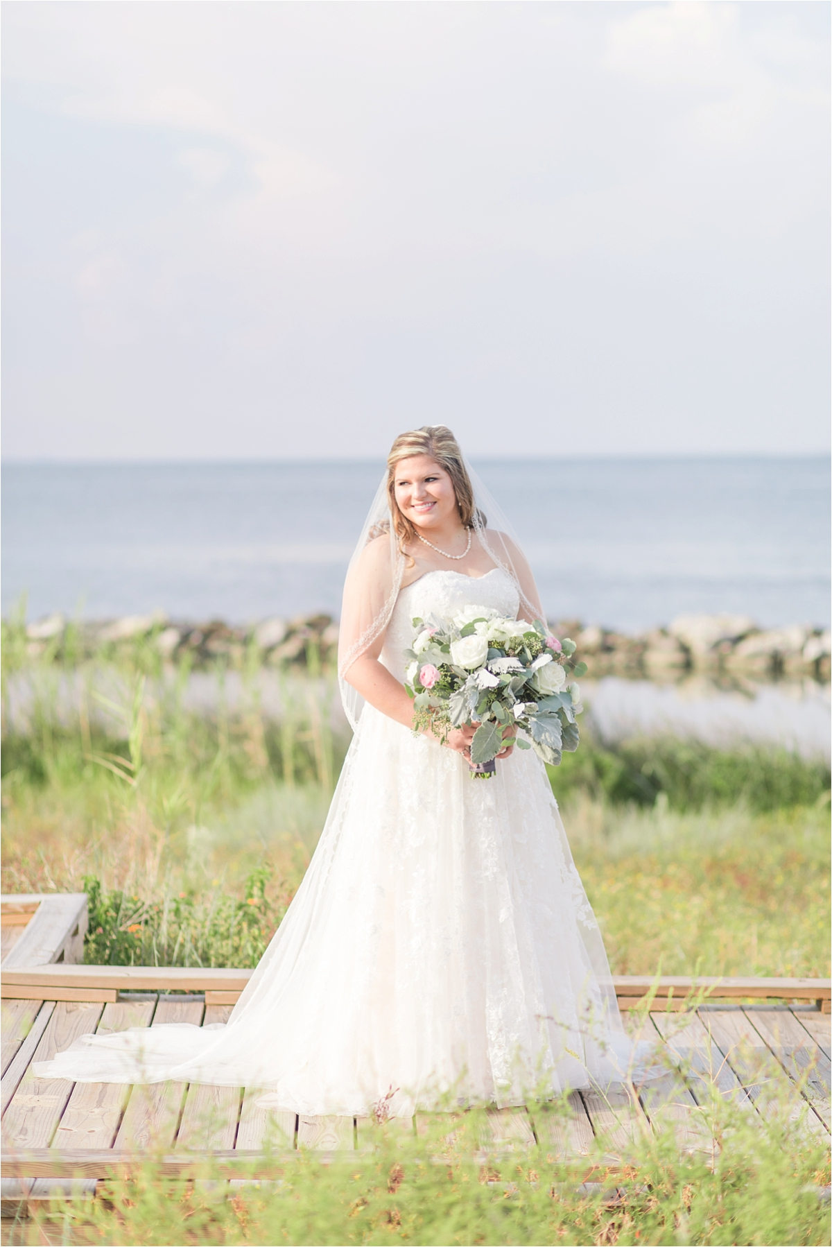 bridal-portraits-alabama-wedding-photographer-Dauphin Island Estuarium-on the beach-beach