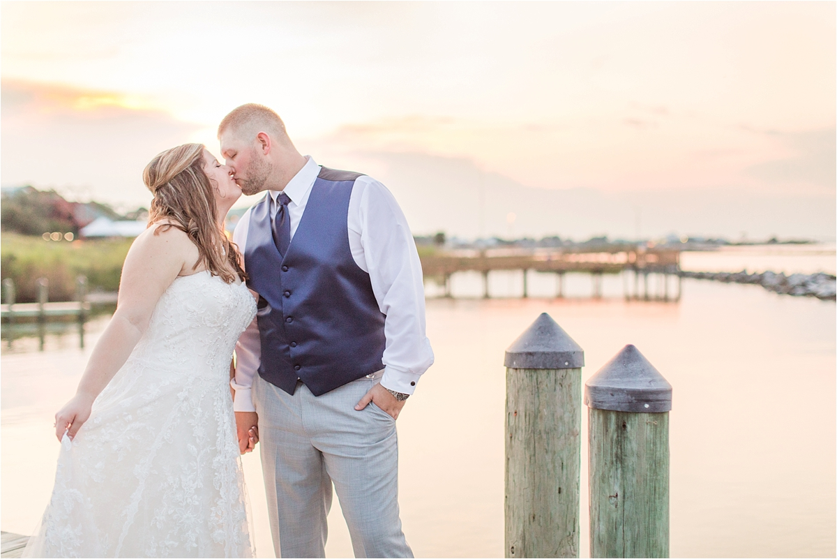 navy-venue-alabama-wedding-photographer-Dauphin Island Estuarium-on the beach-beach-bride-groom-portraits-sunset