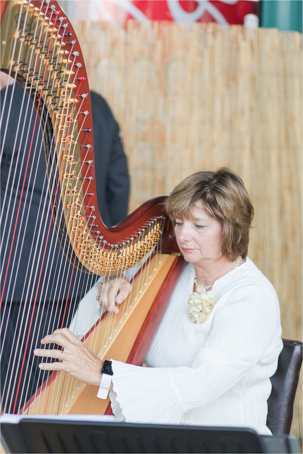wedding-ceremony-harp-player-classic-music