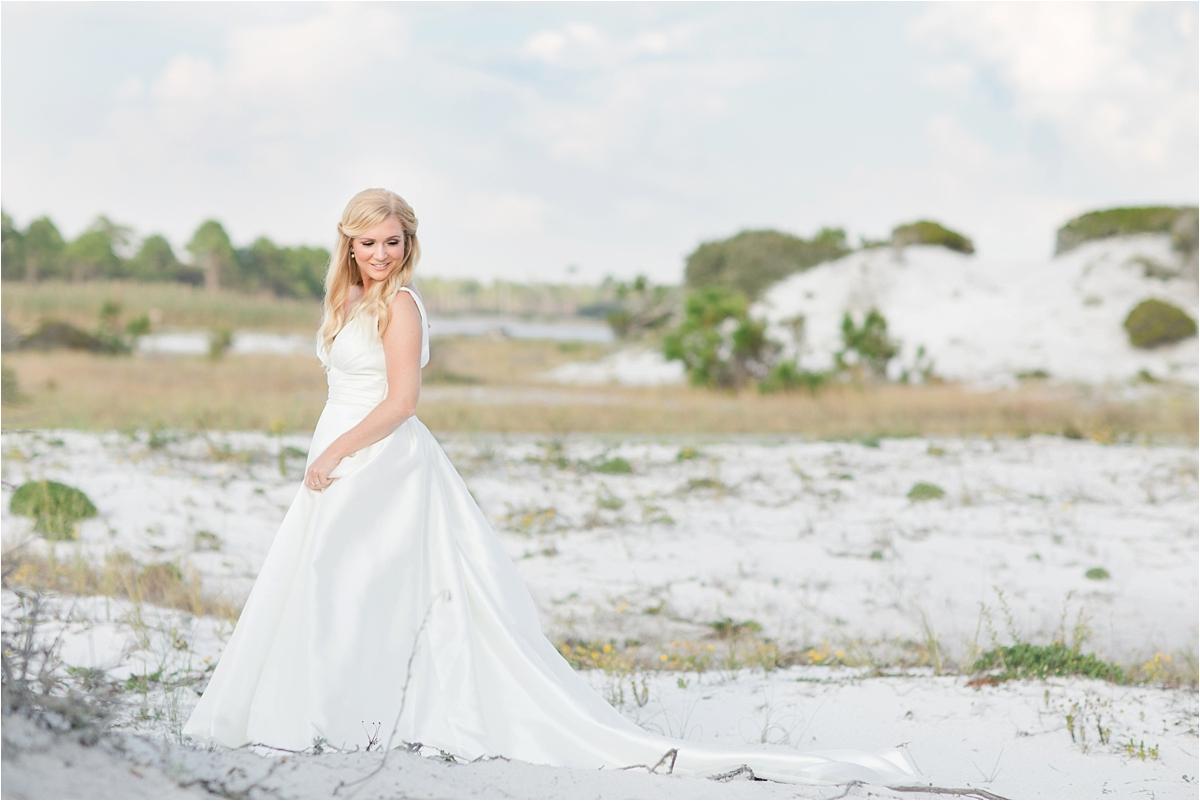 Seaside Florida Bridal Portrait Photographer