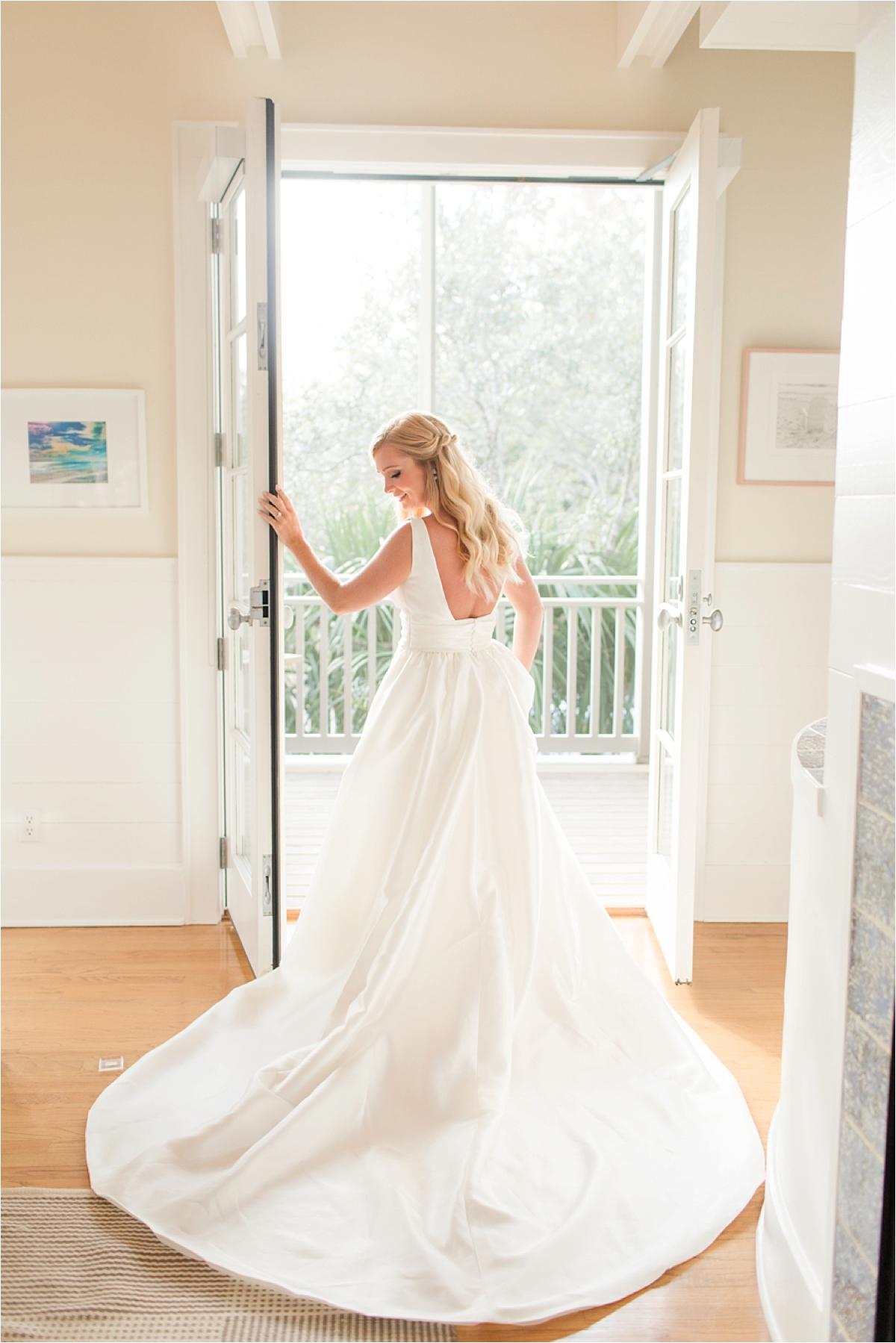Seaside Florida Bridal Portrait Photographer-Catherine Carter-Florida bride-Beach Bridal Shoot-Alabama photographer-Sunset bridal shoot-Wedding dress