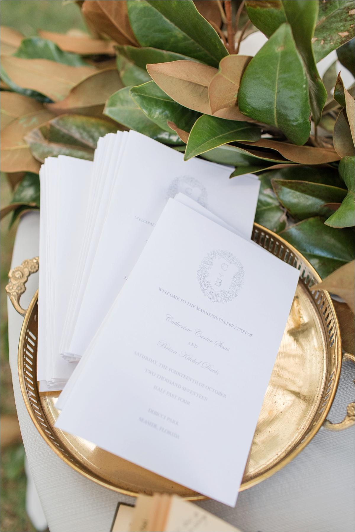 Seaside Florida Wedding Photographer-Catherine Carter + Brian-Alabama photographer-Wedding invitations-Wedding paper-Wedding details