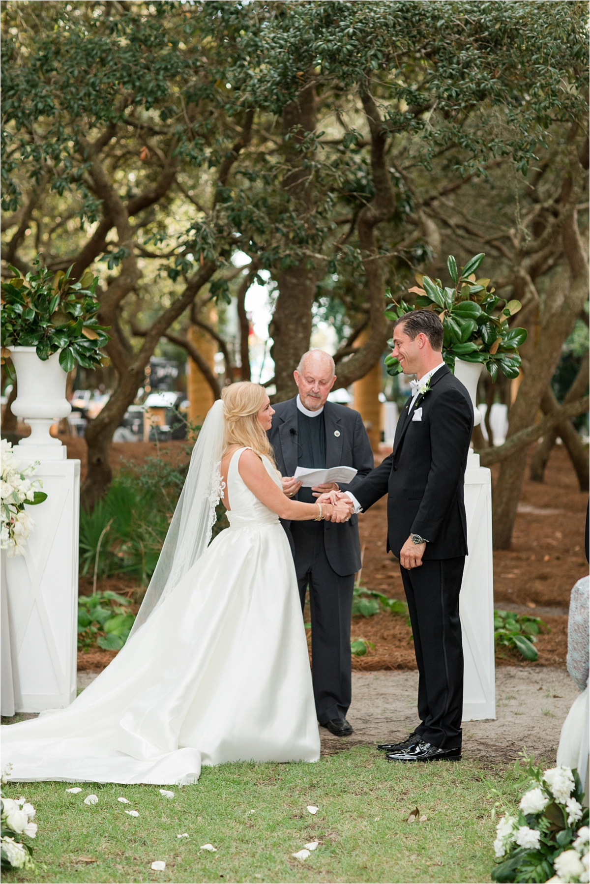 Seaside Florida Wedding Photographer-Catherine Carter + Brian-Alabama photographer-Bride and groom