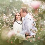 Autumn Engagement Session in the Rain | Courtney + Ben