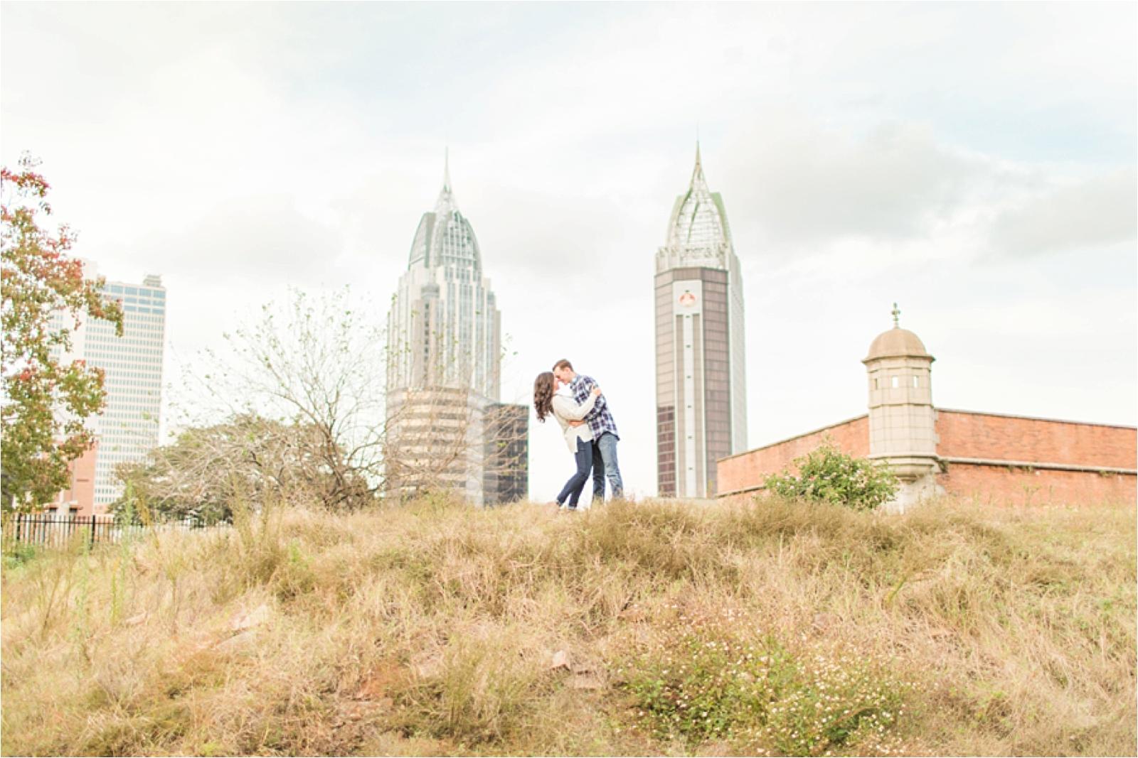 Mobile Alabama Engagement Session Photographer