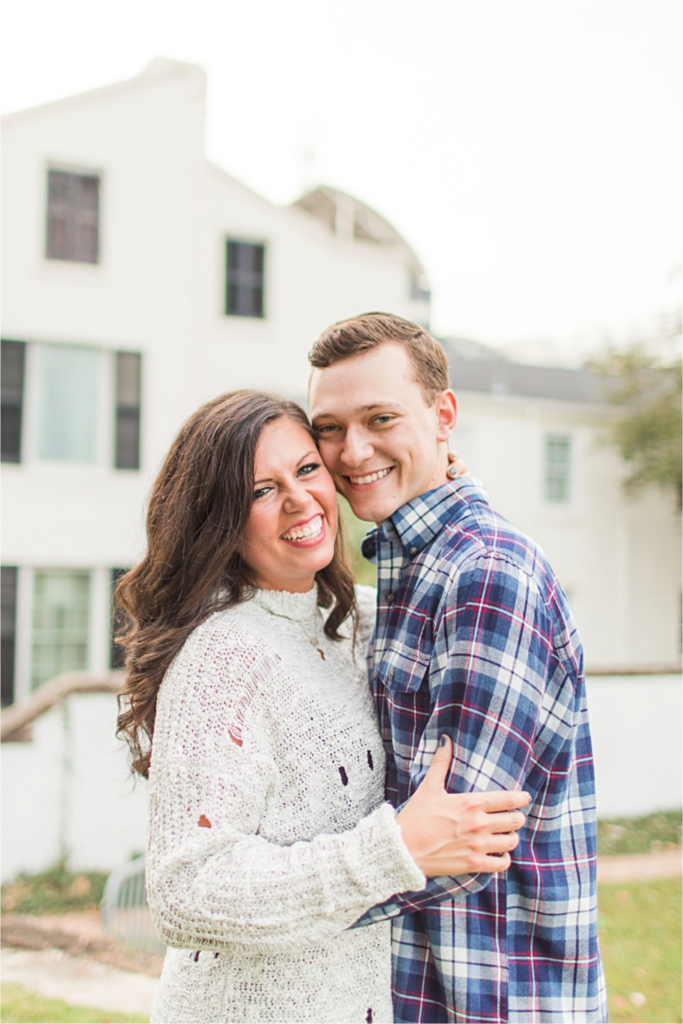 Mobile Alabama Photographer-Engagement Session-Josi + J.R.-Fall Engagement Session-Couple shoot-Candid-Forte Conde-Forte Conde Photoshoot