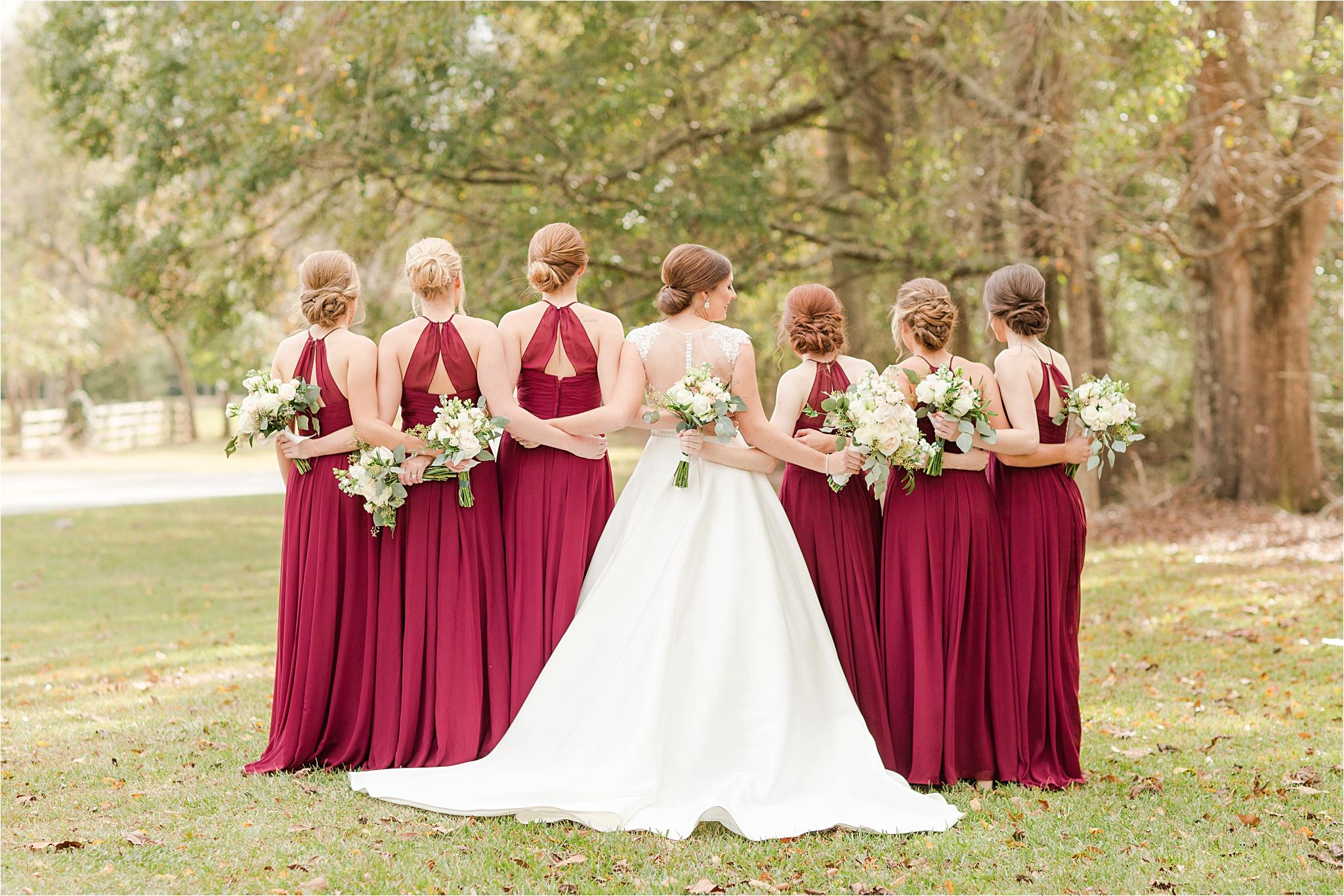 The Barn at Bridlewood Wedding in Hattiesburg, Mississippi