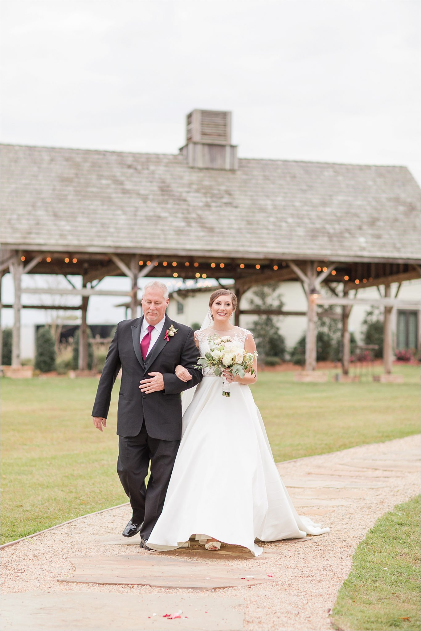 The Barn at Bridlewood Wedding in Hattiesburg, Mississippi