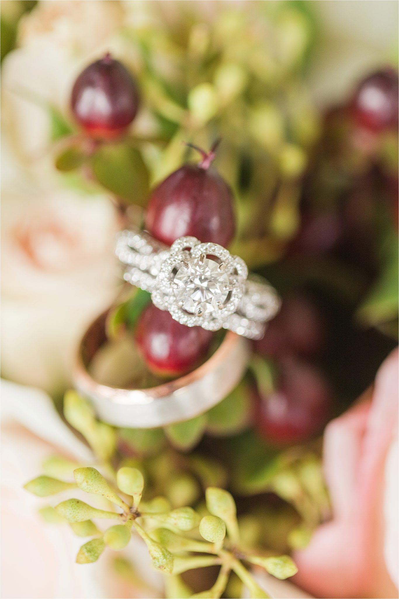 The Barn at Bridlewood Wedding-Hattiesburg, Mississippi-Kelsey + Blake-Wedding details-Wedding rings