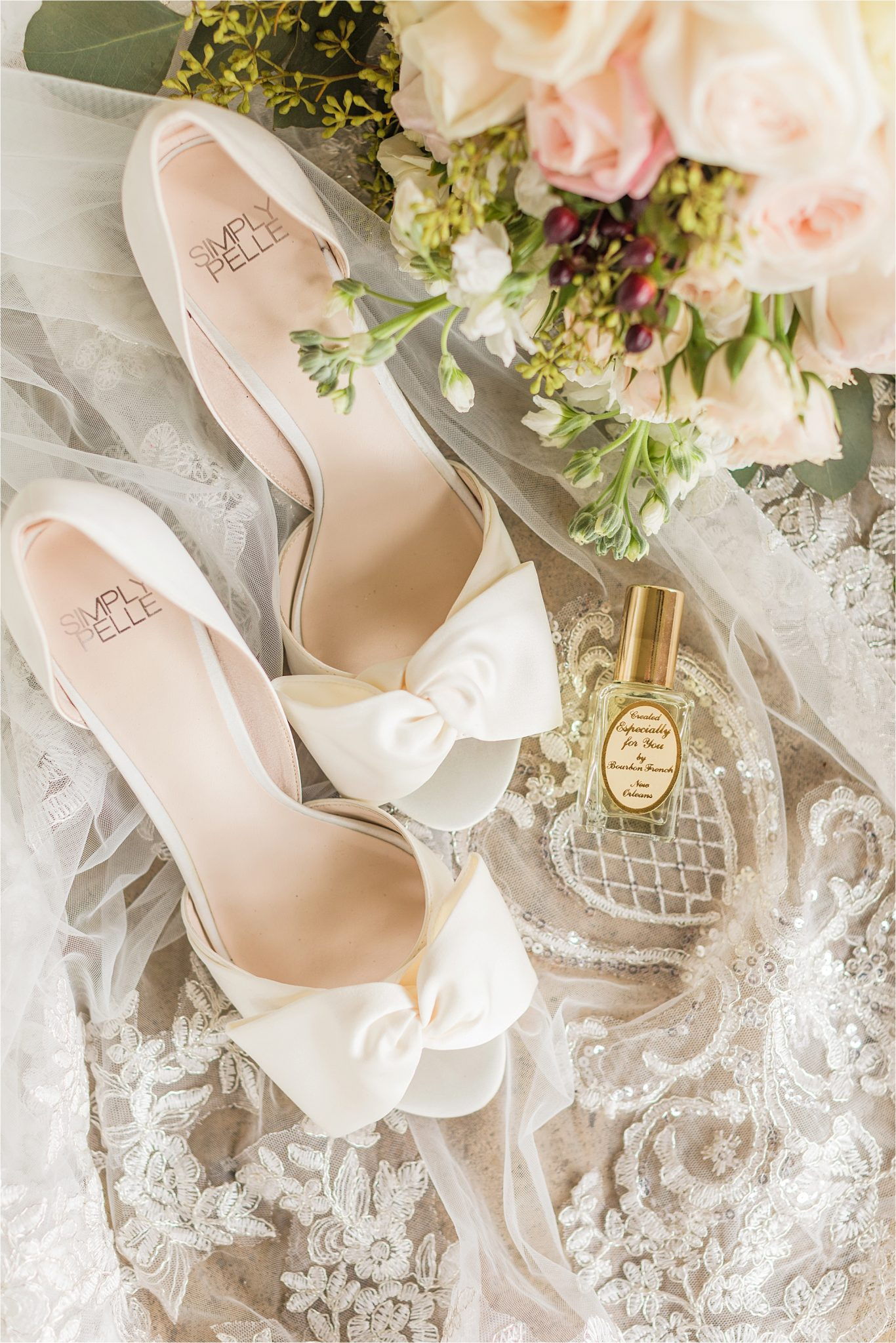 wedding-shoes-details-white-ribbon-bow-flats-parfume
