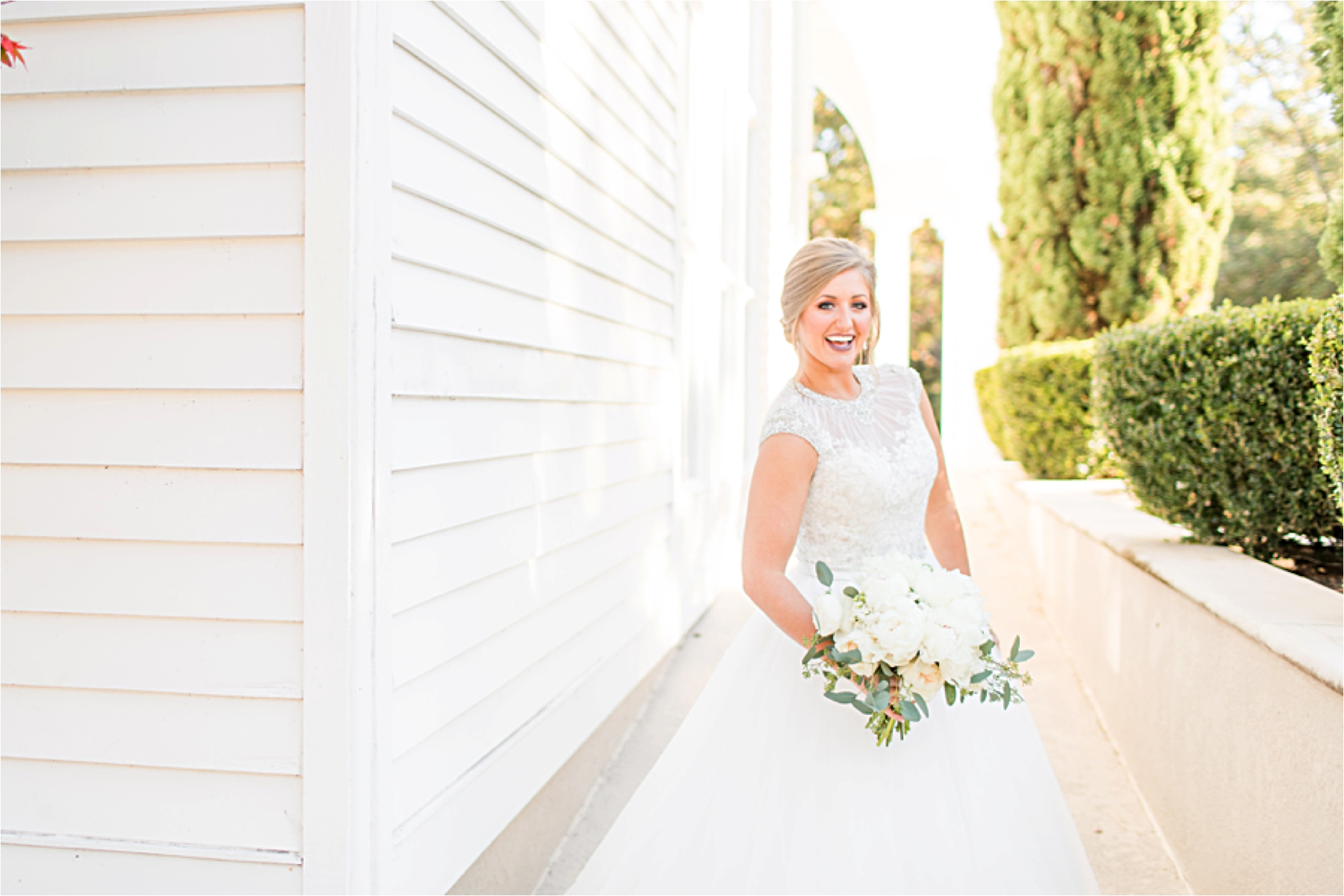 St Francis at the Point Bridal Portraits