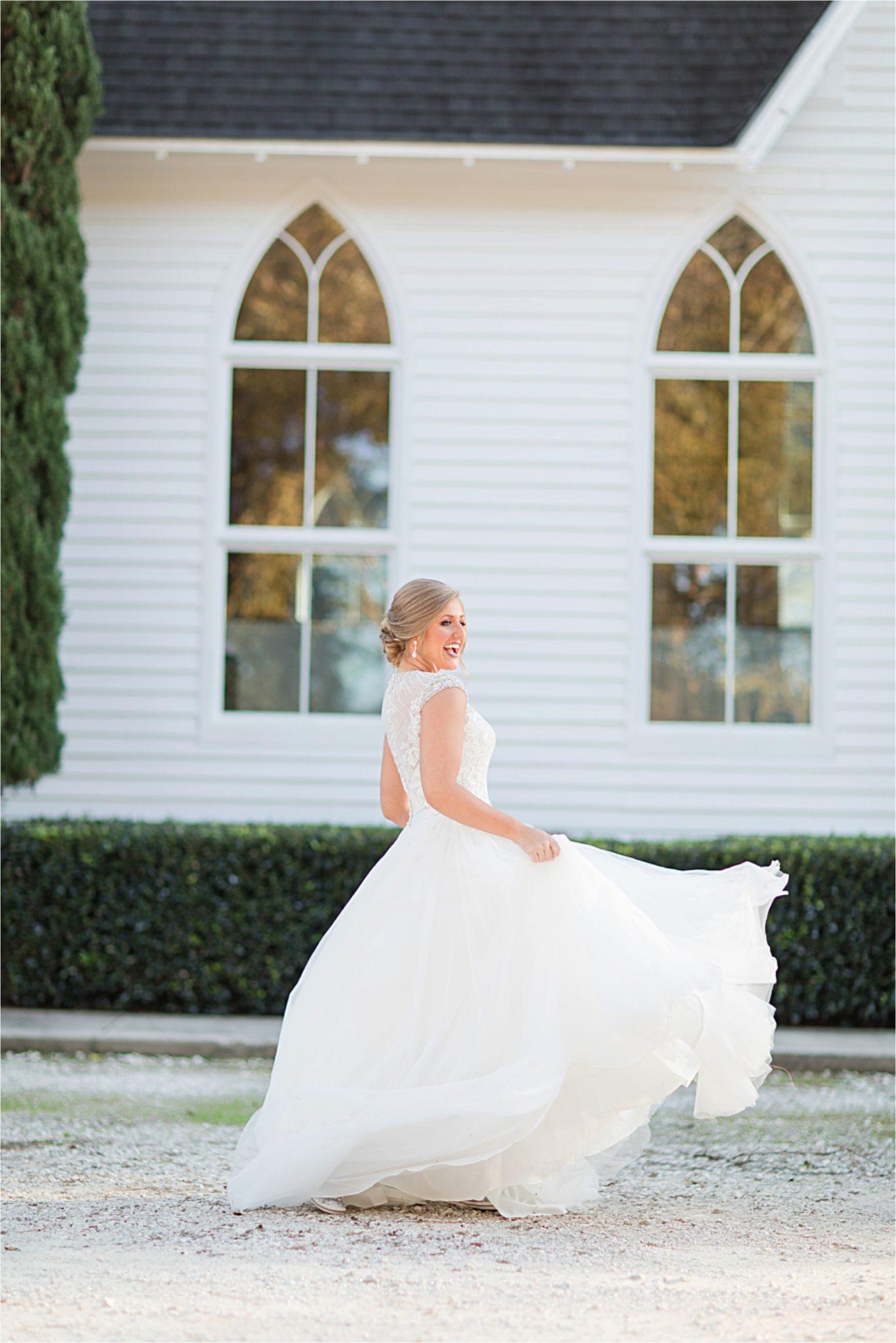 St Francis at the Point Bridal Portraits-Mary Catherine-Alabama photographer-Bridal Shoot-Candid-Wedding Dress