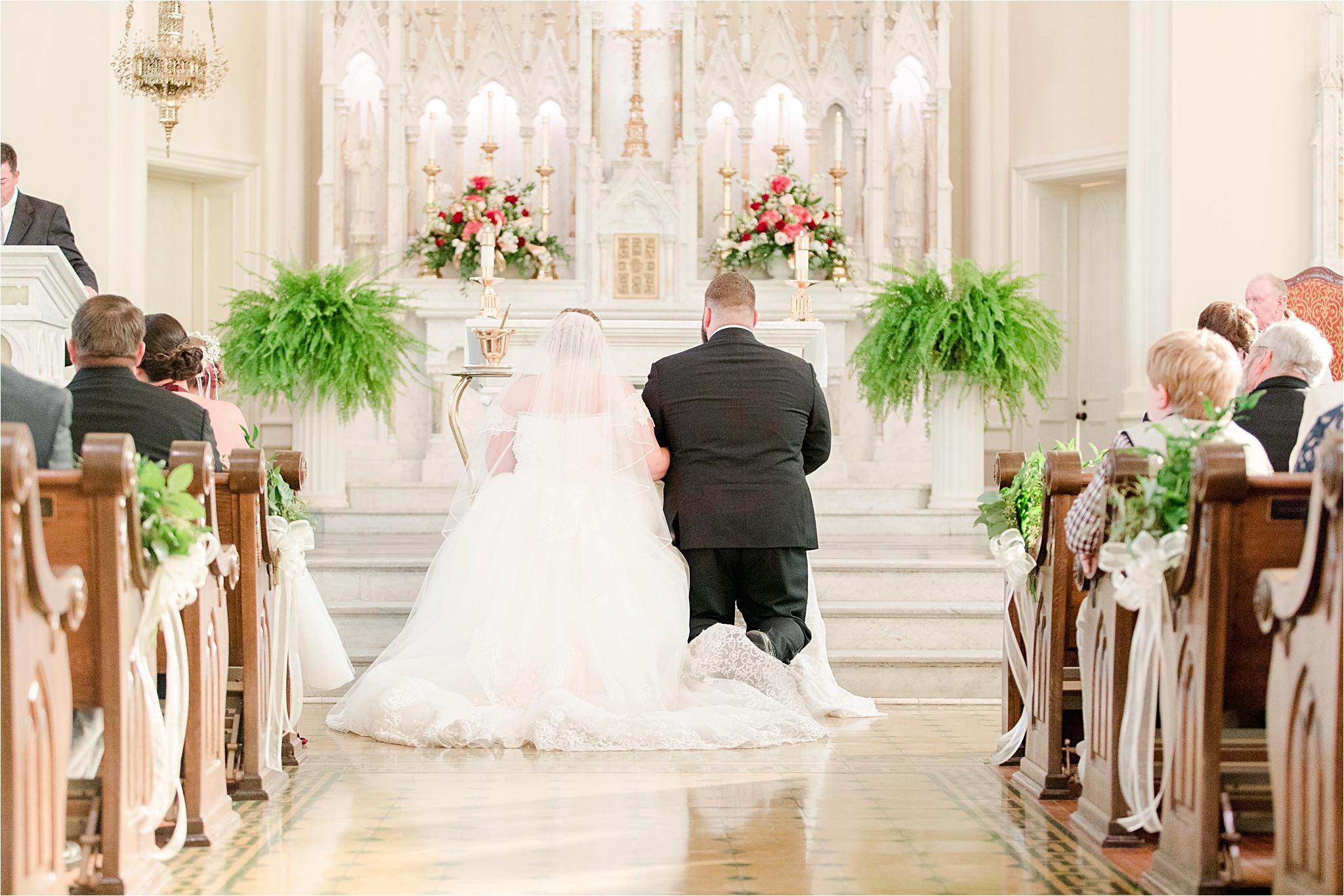 catholic-wedding-ceremony-prayer-bride and groom-christmas-wedding