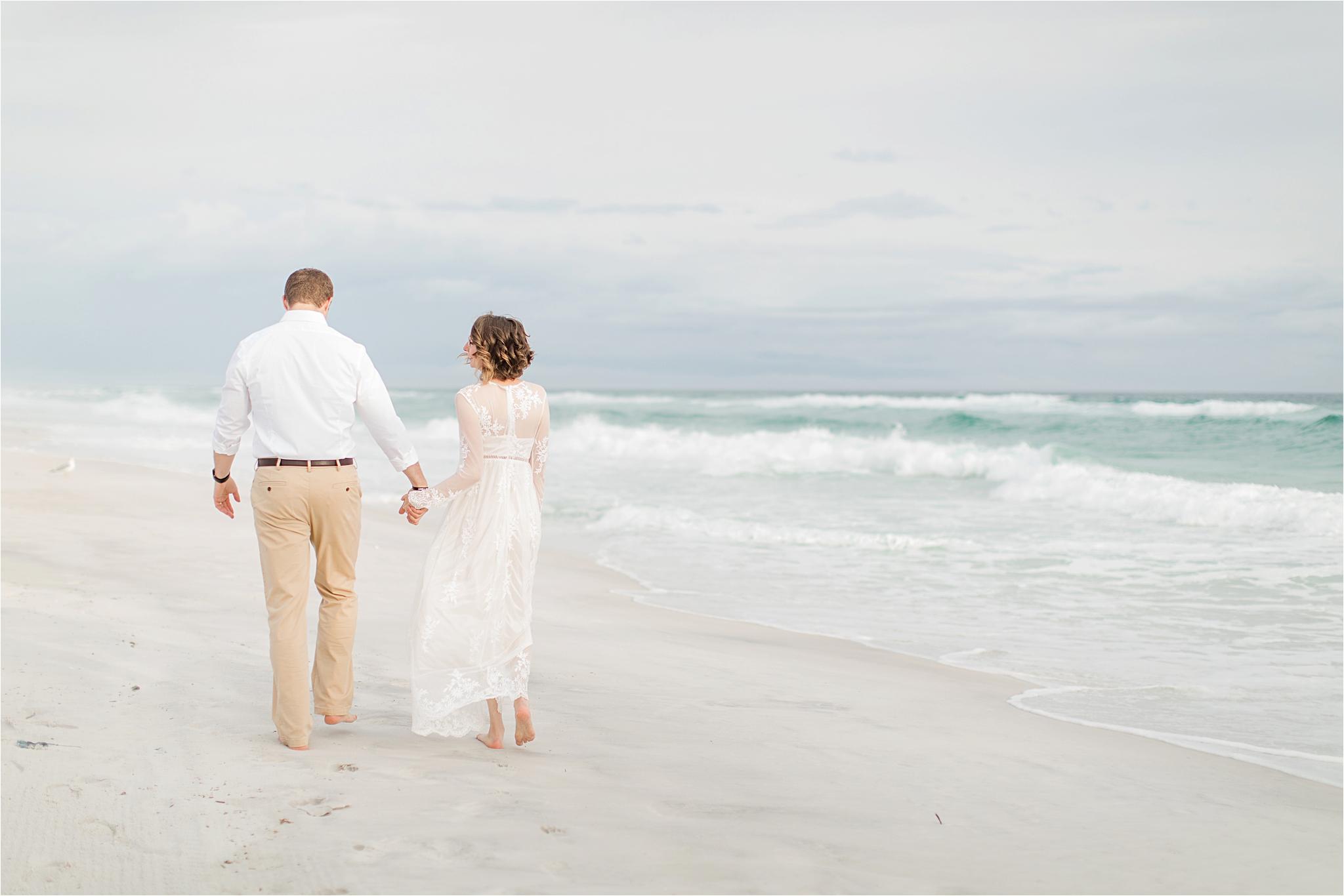 Romantic Pensacola Beach Photos at Sunset   Neil + Steph