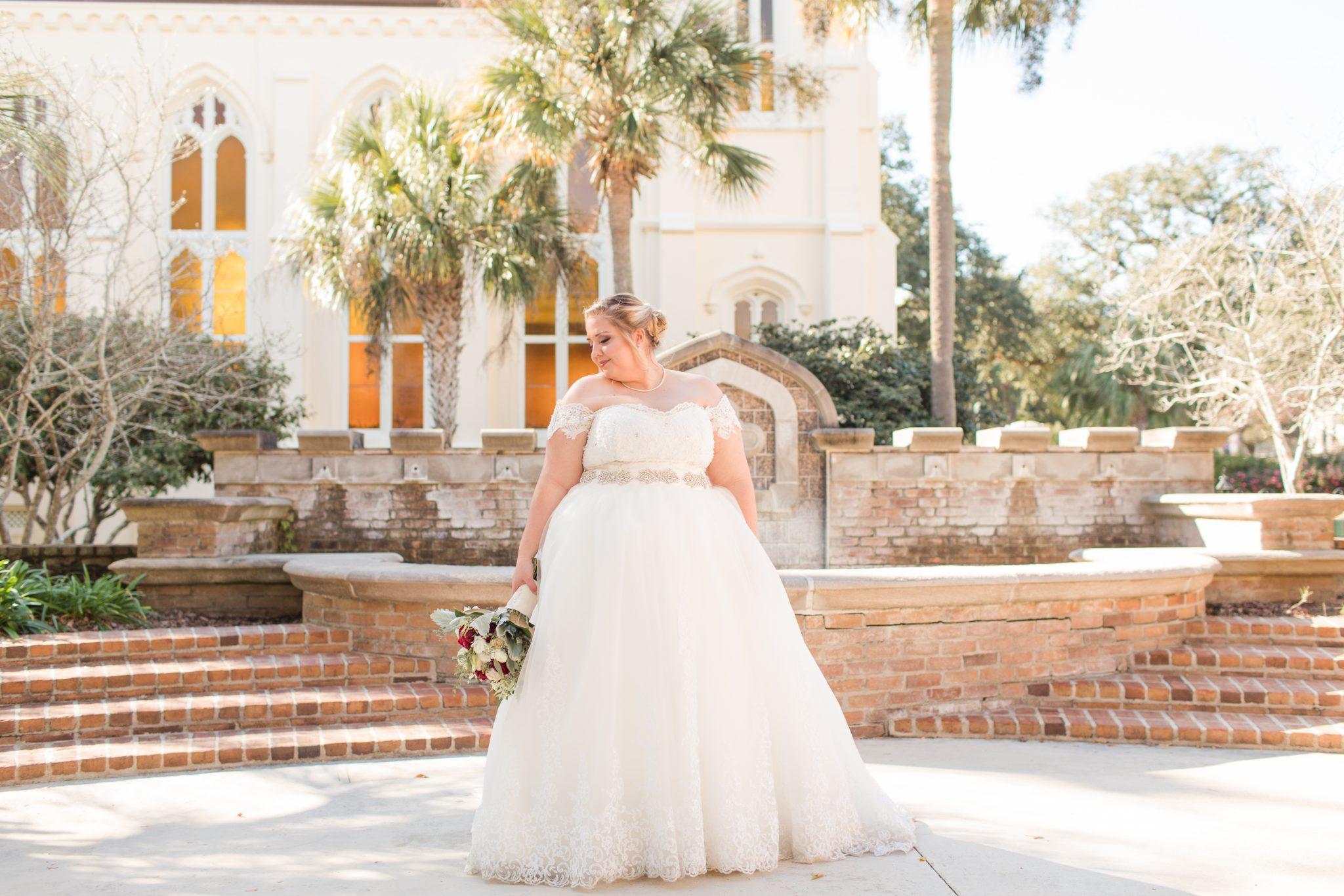 Battle House Hotel & Richard DAR House Winter Wedding – Bride + Groom-170