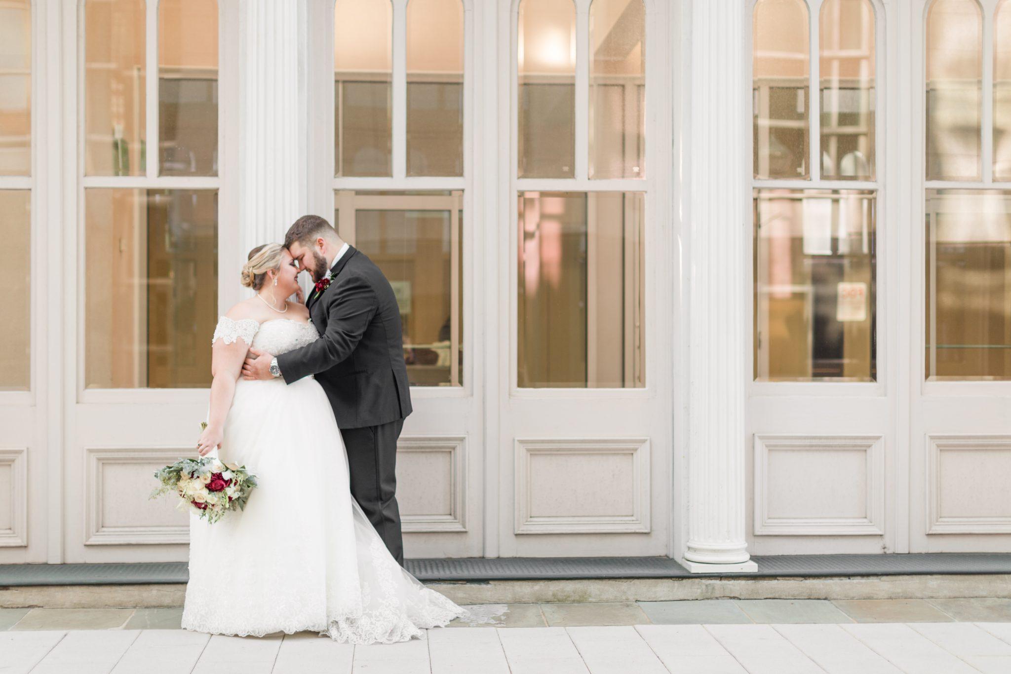 Battle House Hotel & Richard DAR House Winter Wedding – Bride + Groom-91