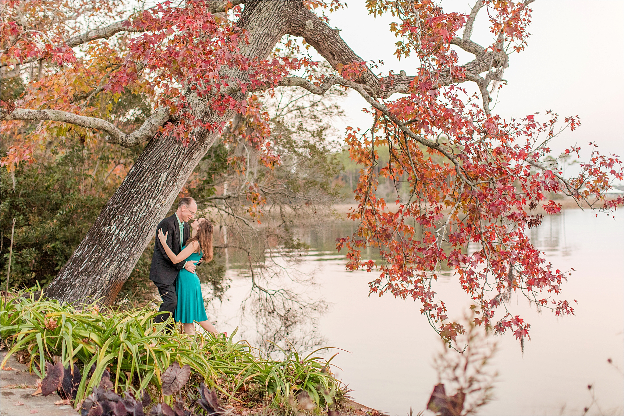 Bellingrath Gardens Engagement Session – Paul and Karina-177