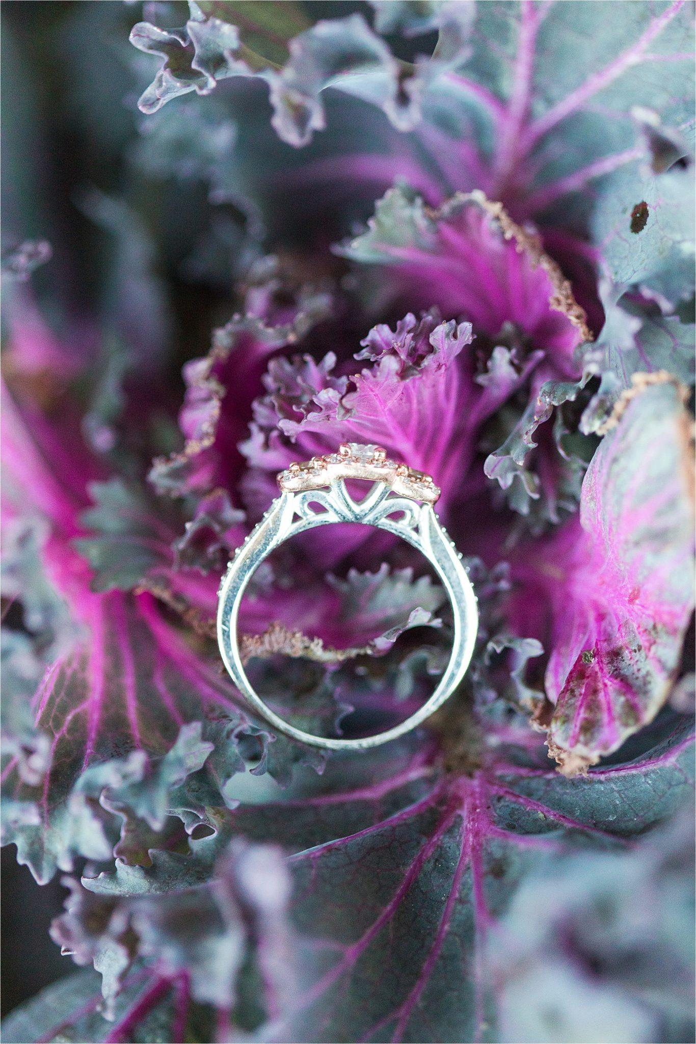 engagement-side-detail-ornate-ring-mixed-metal-triple-halo-three-stone-3-Alabama-wedding-photographer