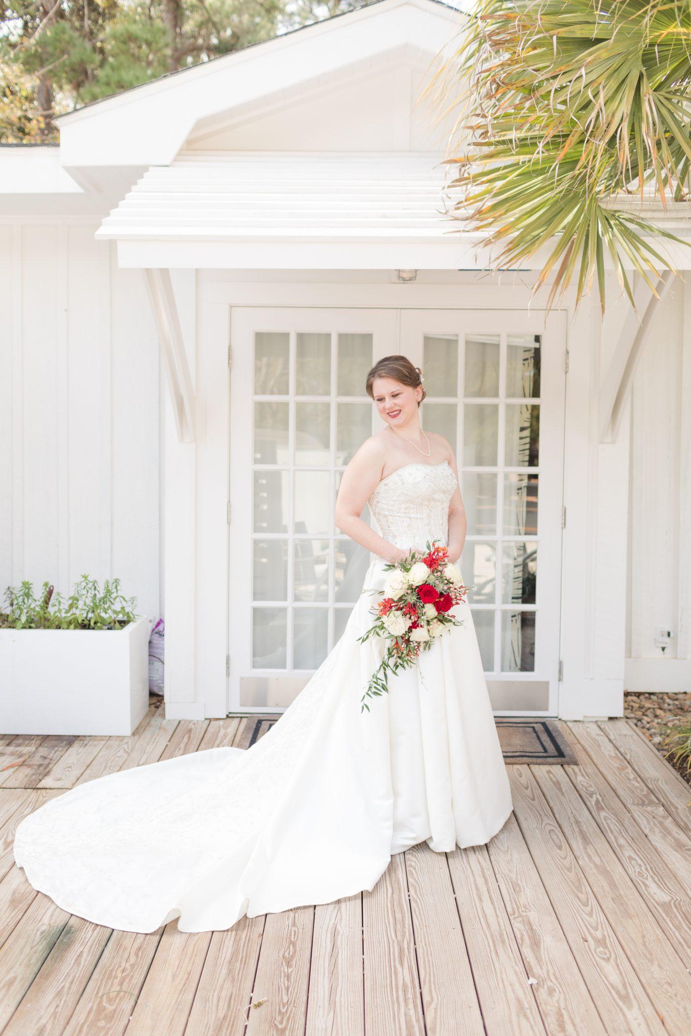 Little Point Clear Winter Wedding – Meribeth and Andrew- BrideGroom-11
