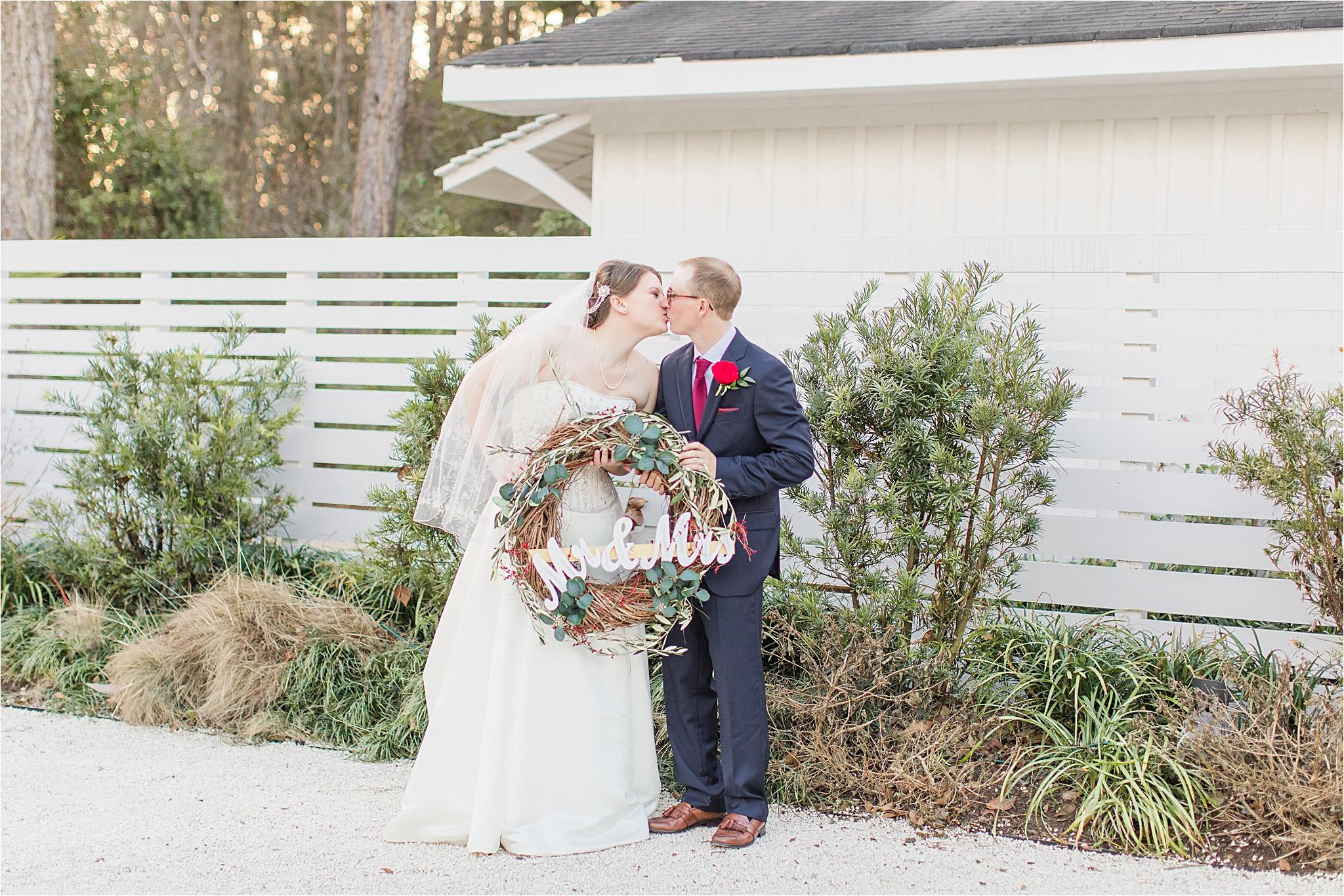 Little Point Clear Winter Wedding