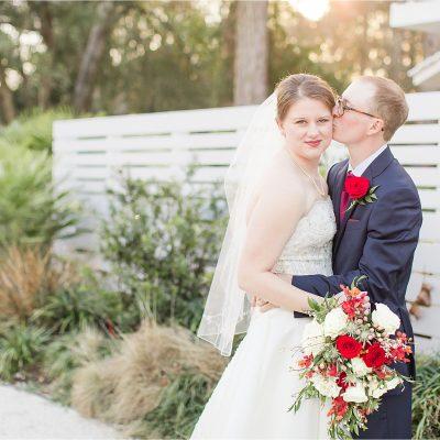 Little Point Clear Winter Wedding | Meri Beth + Andrew