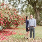 Spring Floral + Carpe Diem Engagement Session | Meredyth + Miles