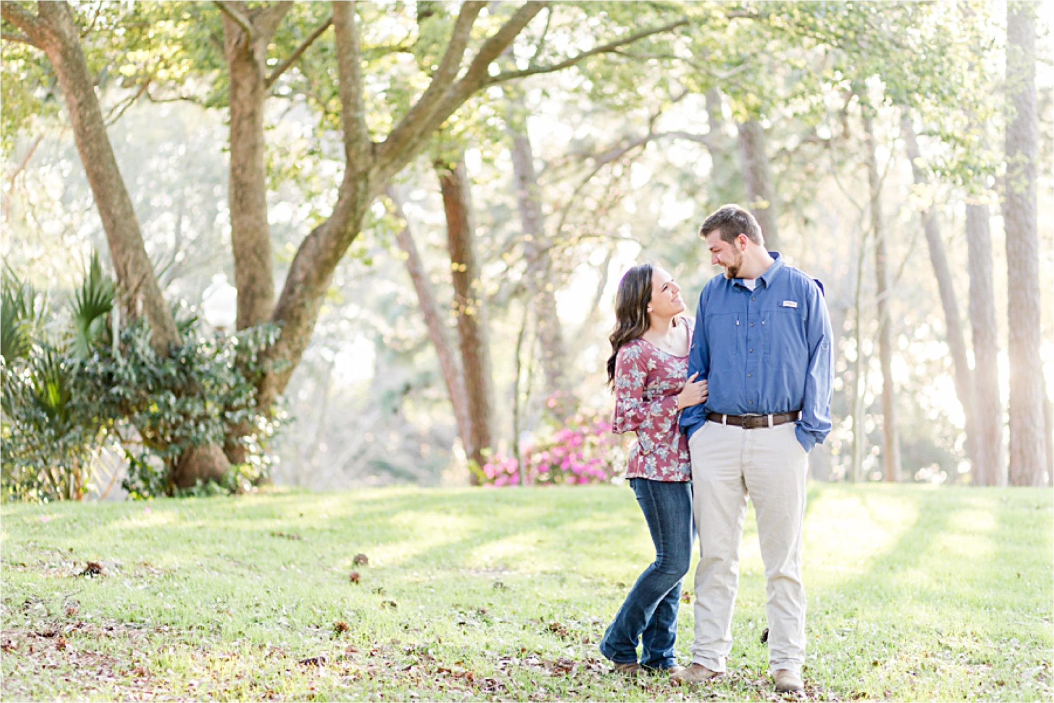 Fairhope Alabama Engagement Session and dog Photographer – Danielle + Taylor-3