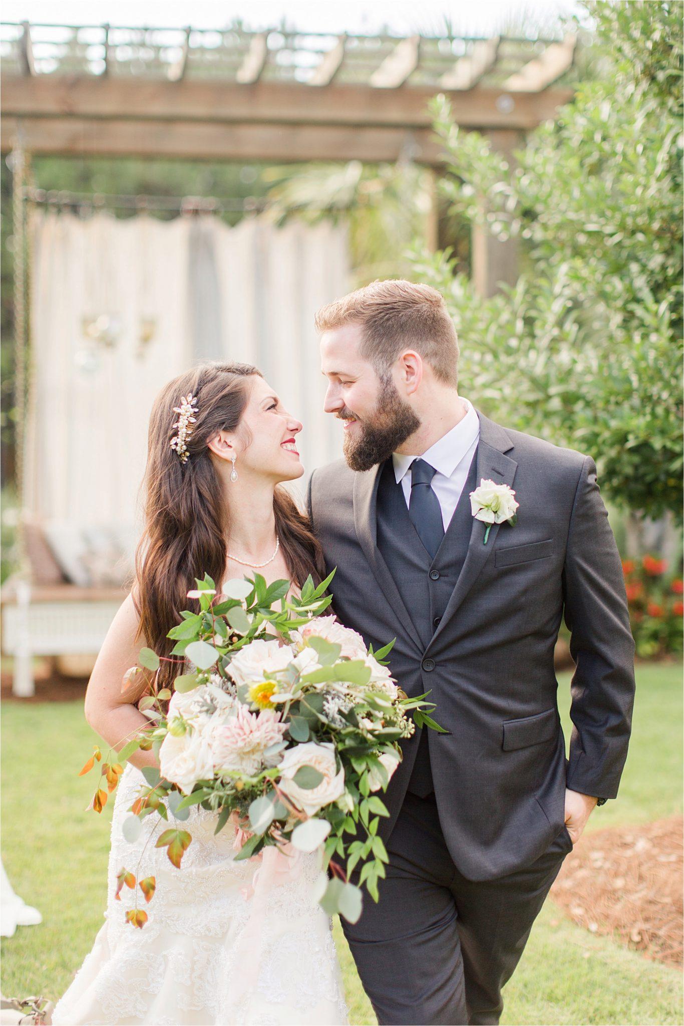 bride and groom photos-wedding day-venue departure