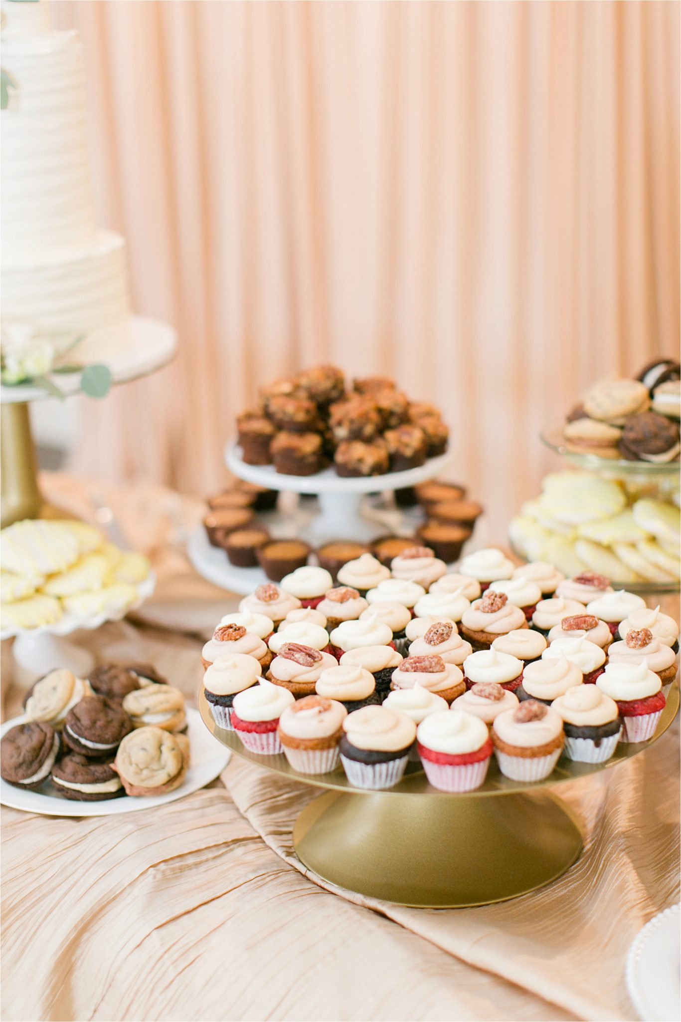 EllenJay Dessert Bar-dessert table-wedding-reception-food ideas