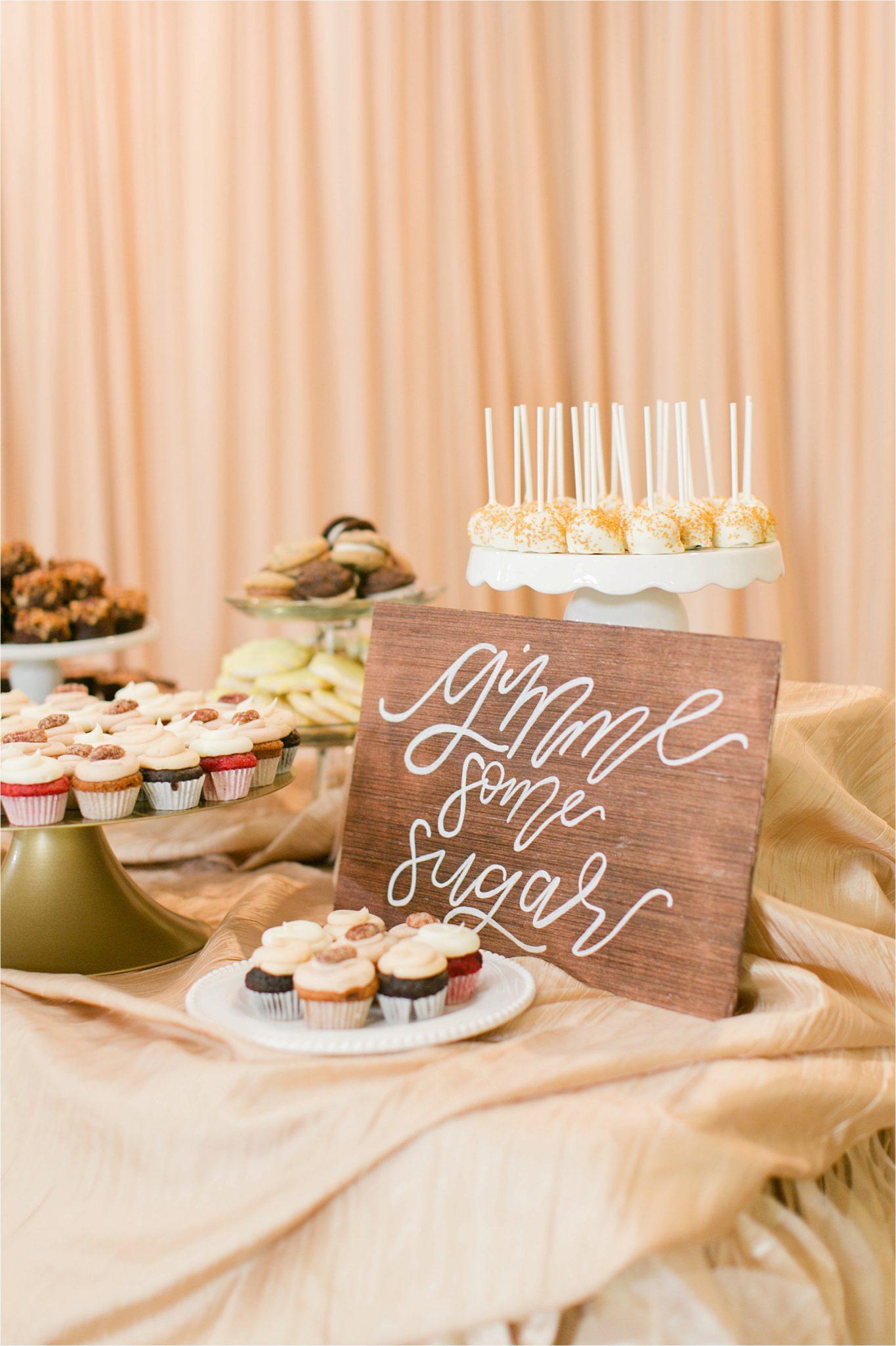 EllenJay Dessert Bar-dessert table-wedding-reception-food ideas-wedding signs-dessert table